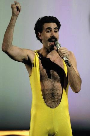 Das wird lustig: «Borat»-Darsteller Sacha Baron Cohen soll Freddie Mercury spielen.