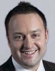 Nationalrat  Sebastian Frehner, SVP, Baselstadt. (Monika Flueckiger)