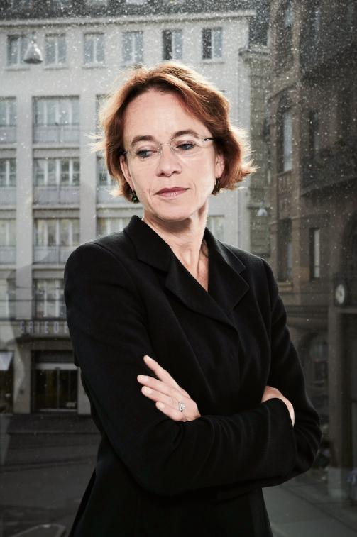 Macht keine Schnellschüsse: Die baselstädtische Finanzdirektorin Eva Herzog. Bild: Christian Schnur