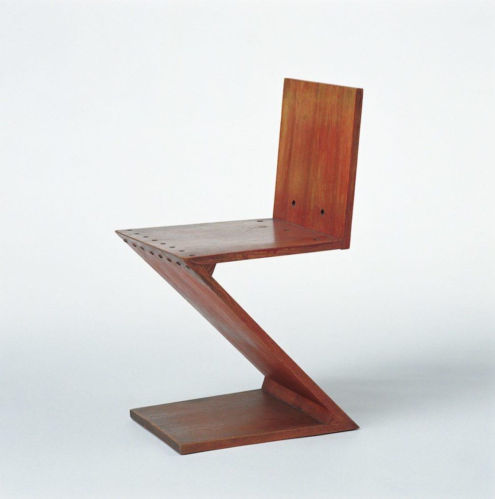Das verm chtnis von gerrit rietveld im vitra design museum for Stuhl design 20 jahrhundert