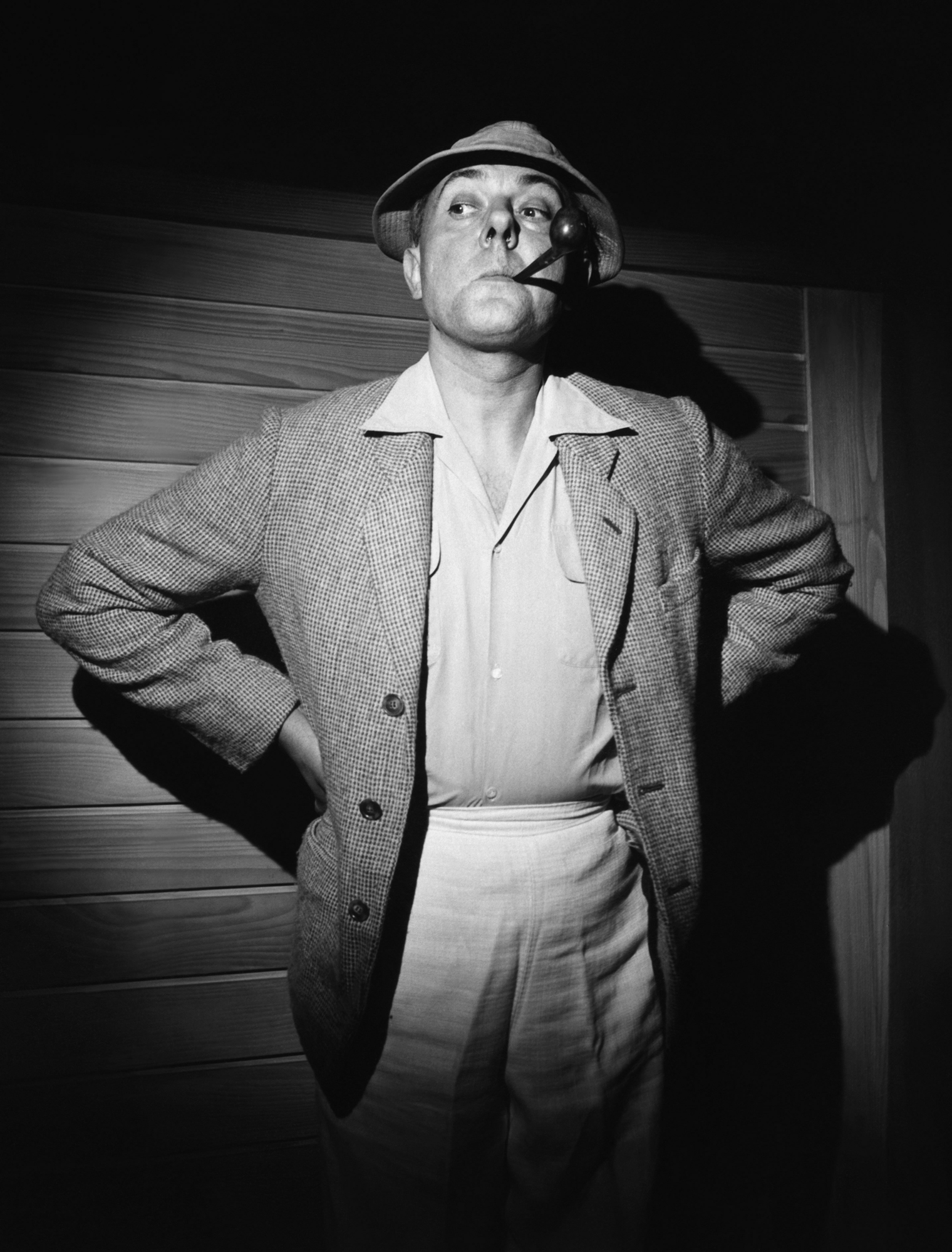 Jacques Tati als Monsieur Hulot.
