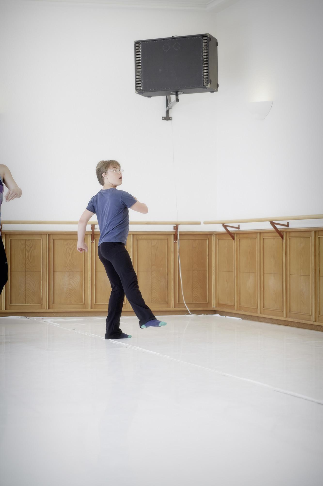 Beim Ballett kann Paul Voegelin Gefühle kreativ in Bewegung umsetzen.
