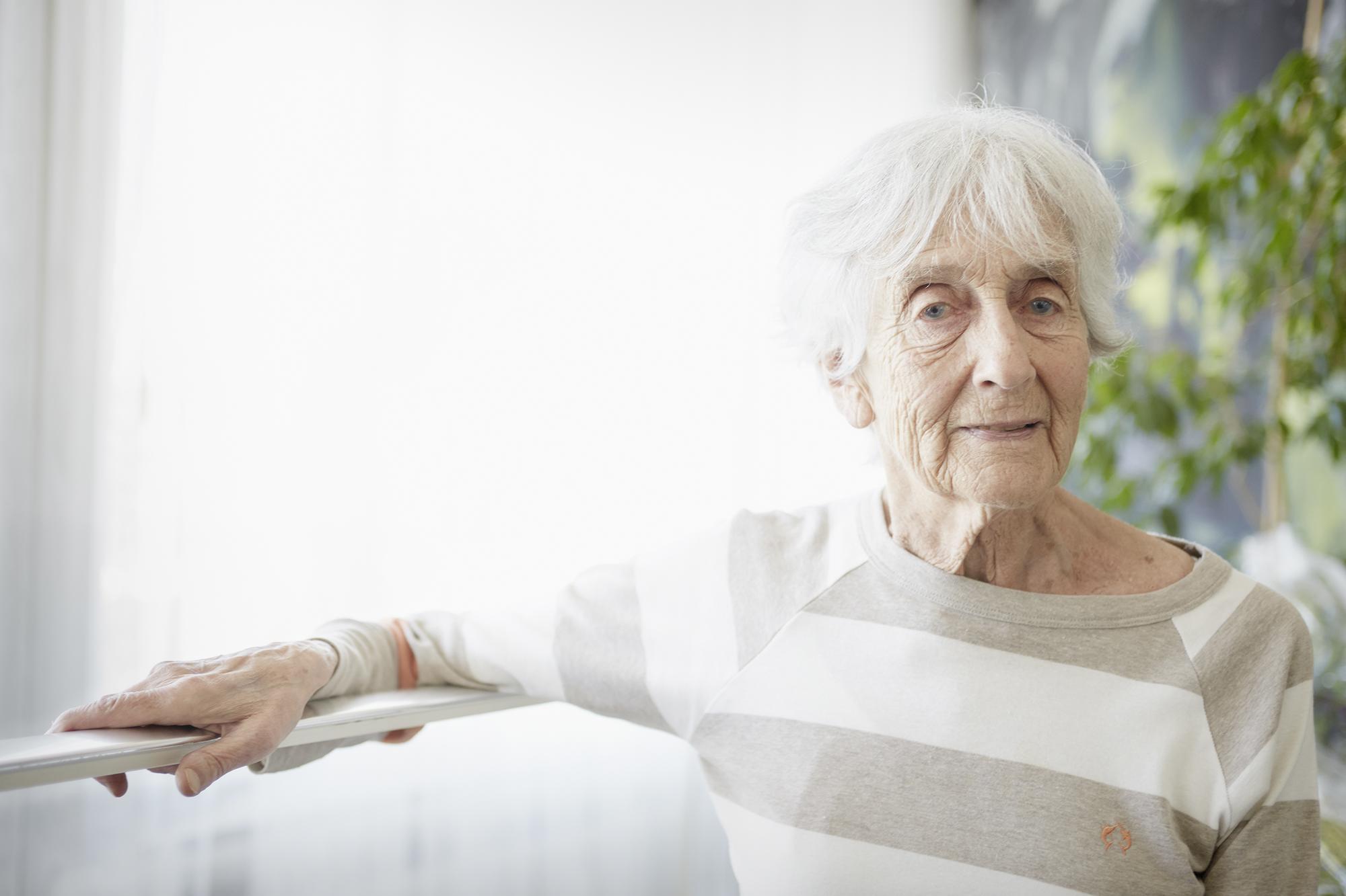 Katia Guth-Dreyfus, 87, studierte Kunstgeschichte.