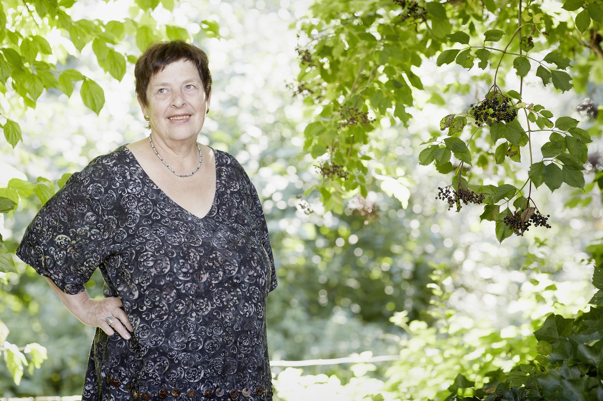 Marianne Spring-Wahl, 86, wurde Lehrerin.
