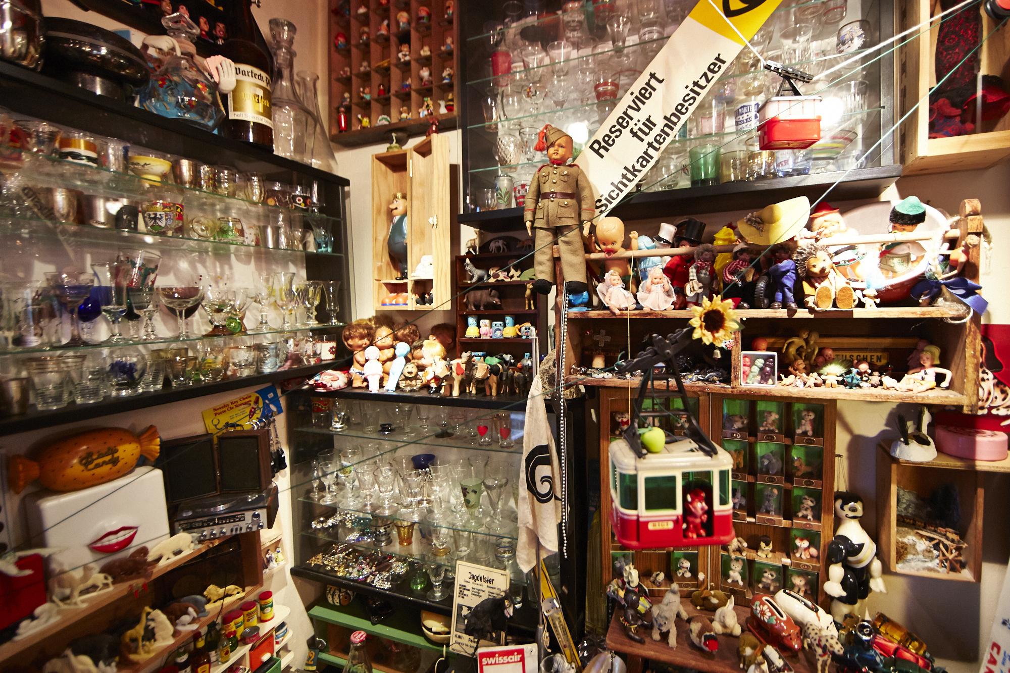 Platz für alles: Im Hoosesaggmuseum hats sich nie ausgeschaut.