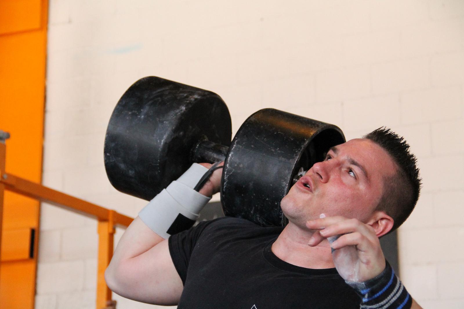 Was schwer ist, hat für ihn Gewicht: Ramon Gysin. (Bild: Imhof)
