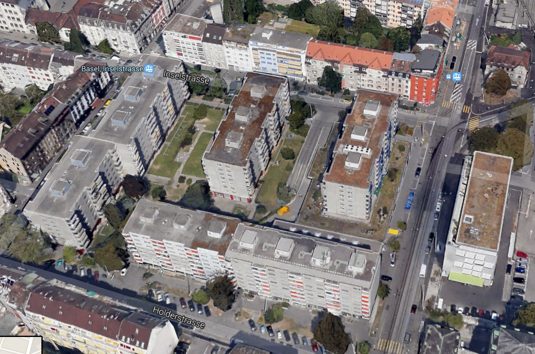 900 Menschen leben in den vier Blocks der Siedlung Klybeck Mitte
