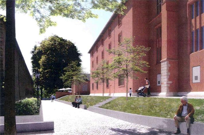 Garten weg: So die Pläne für das neue Klingetalweglein (Stand 2012).