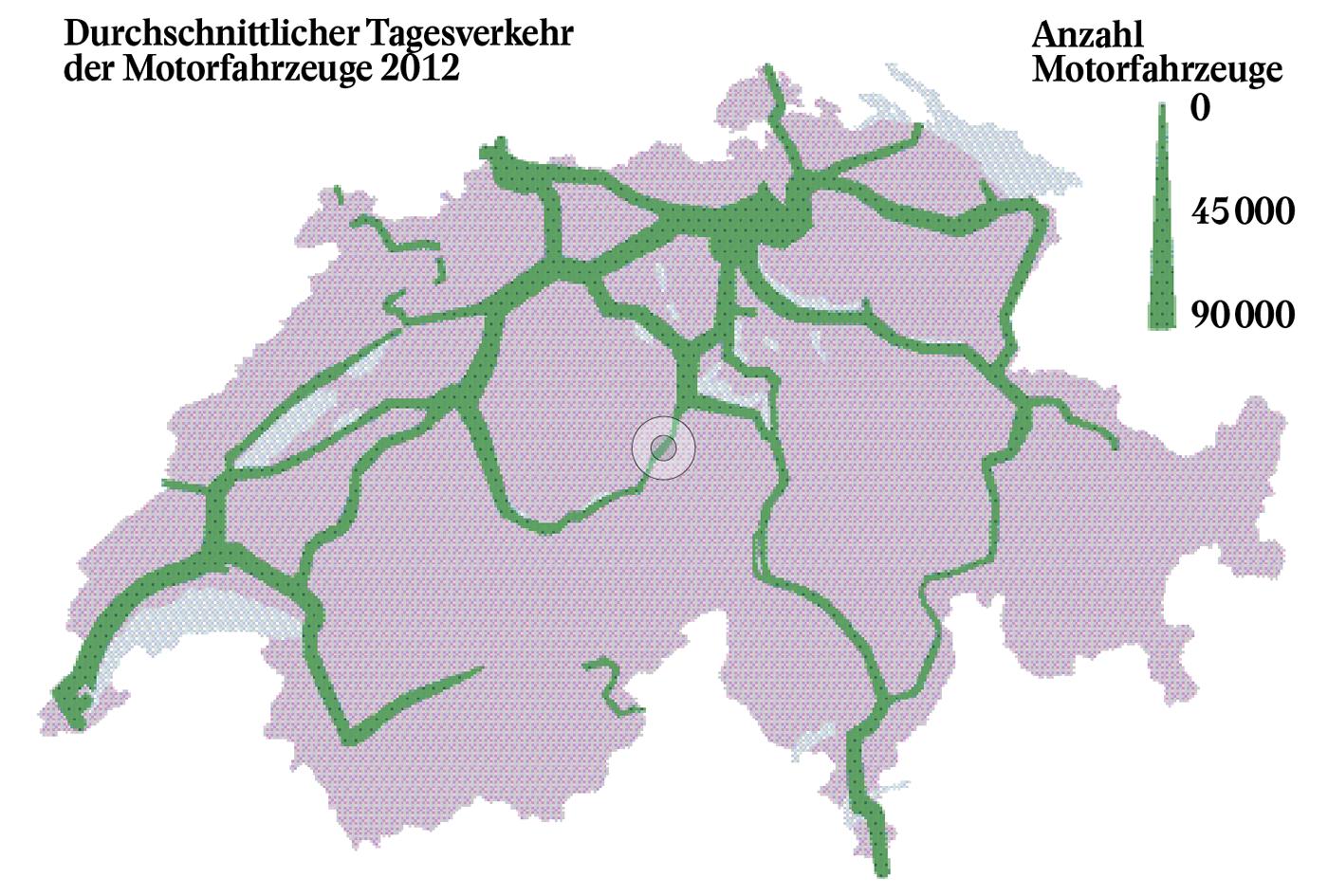 Der Autobahnabschnitt Basel-Osttangente ist seit Jahren übernutzt und zählt für den Bund zum dringlichsten Projekt in der Engpassbeseitigung.