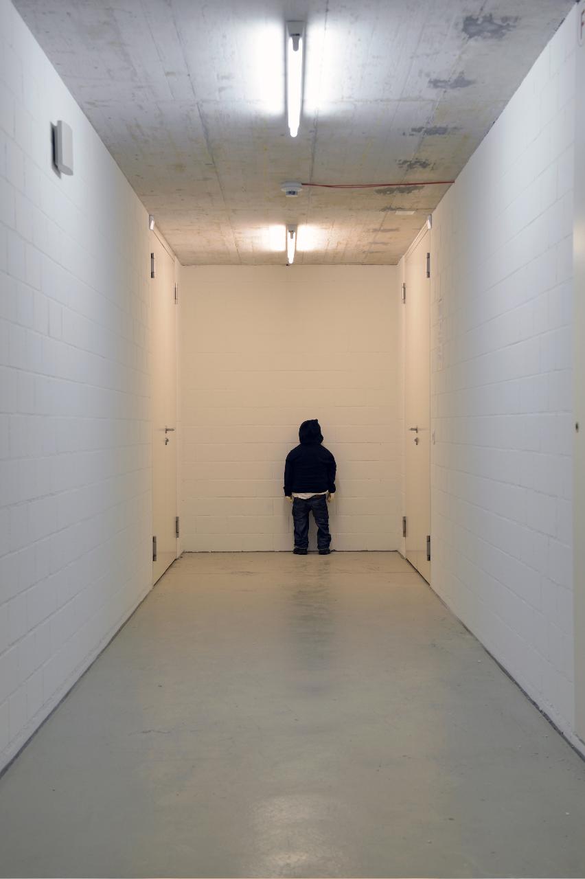 Mit dem Kopf durch die Wand: «Revolution» (2005).