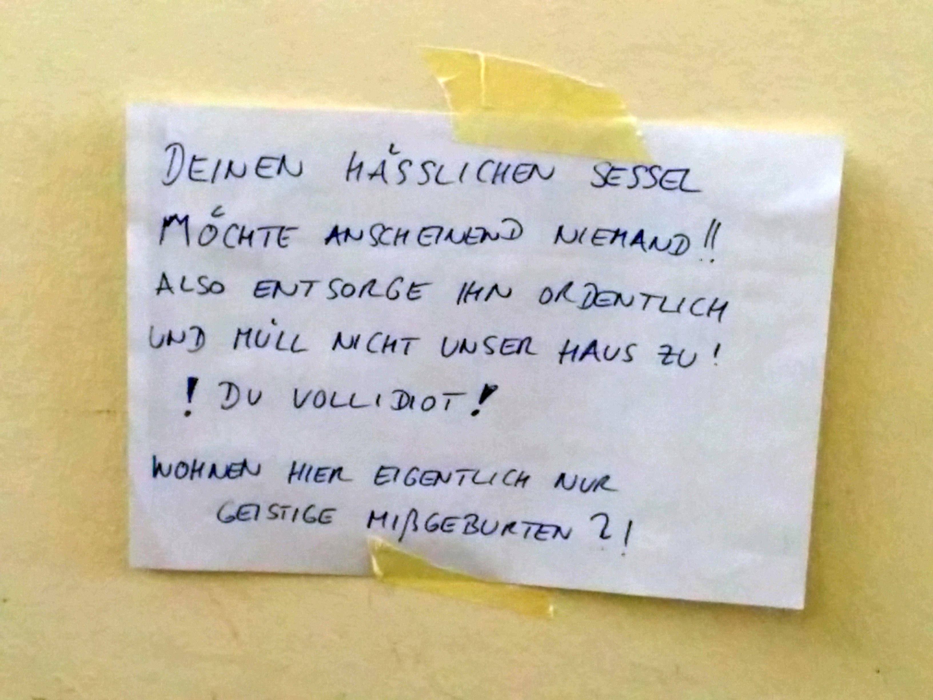 Das Klischee bestätigt: Berliner halten sich nicht lange auf mit Freundlichkeit.