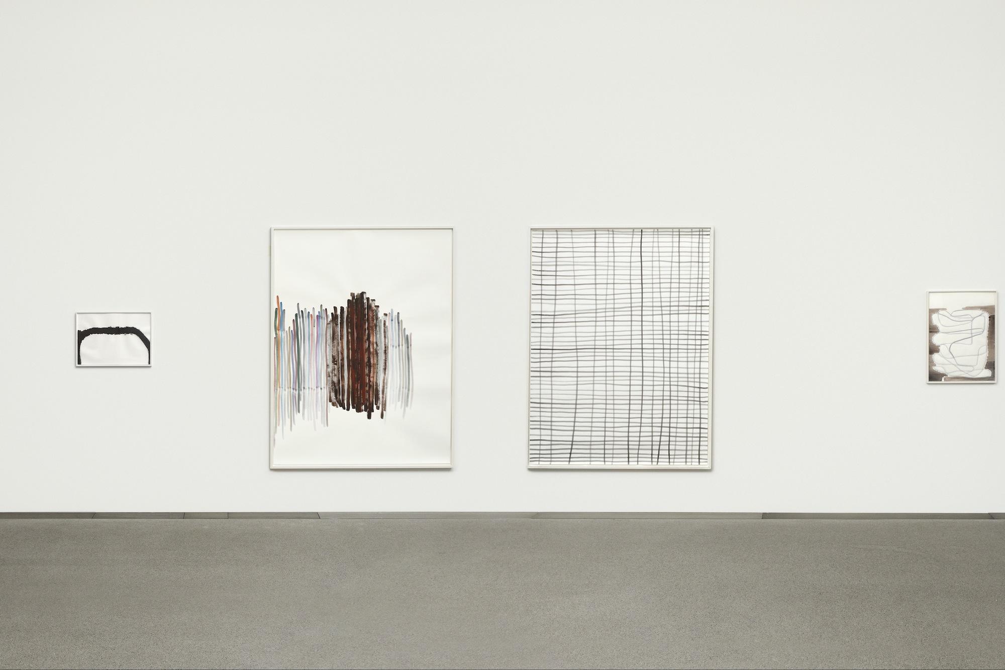 Blick in die Ausstellung in der Pinakothek der Moderne in München.