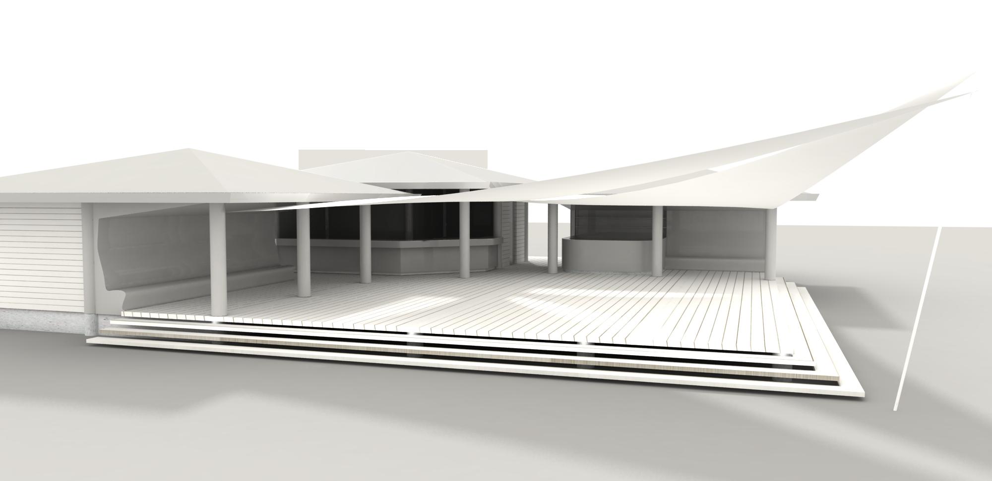 So soll der neue Pavillon aussehen.