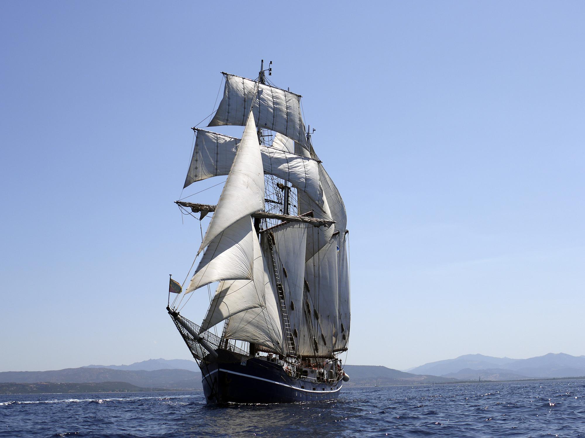 Auf der «Salomon» soll der nautische Drill, die enge Betreuung und die sozialen Lebensverhältnisse auf engem Raum geübt werden.