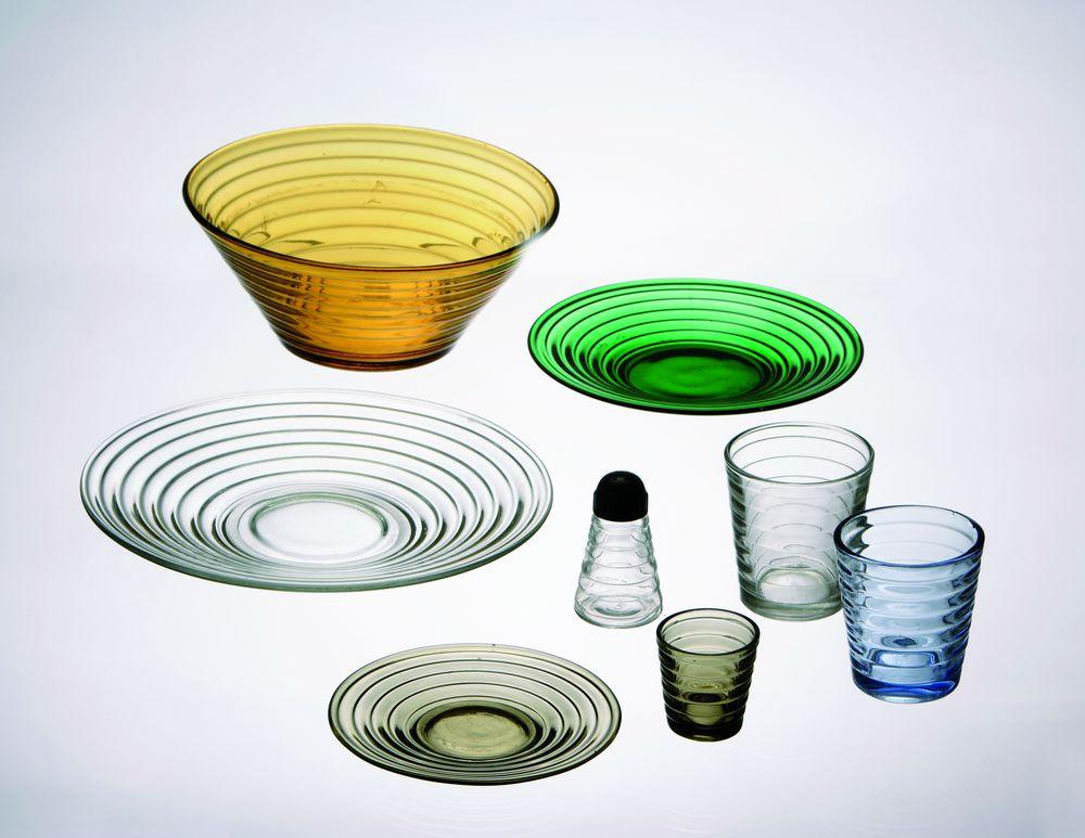 Glaswaren von Aino Aalto (1936).