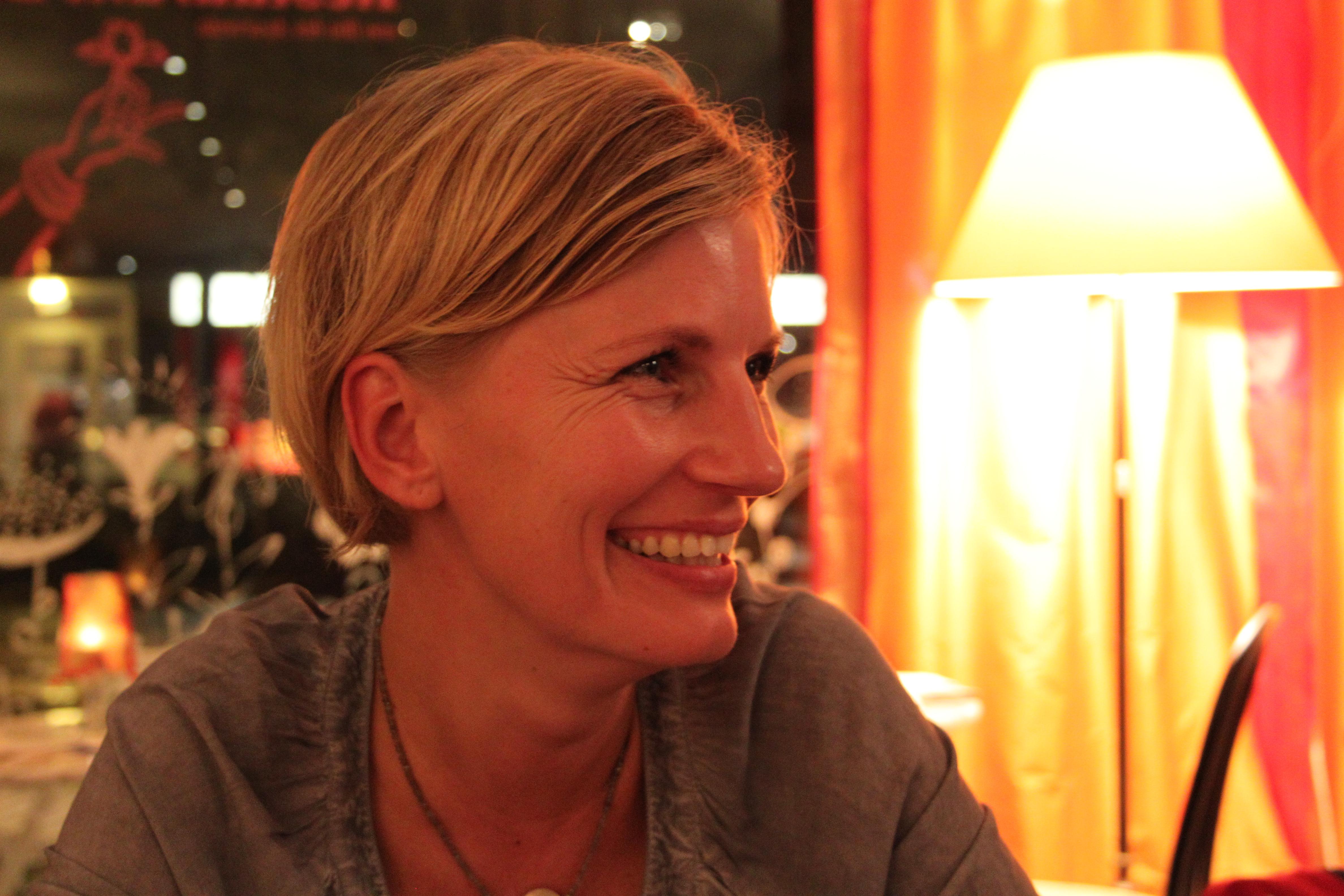 Isst aus gesundheitlichen Gründen vegan: Anne Treccarichi.