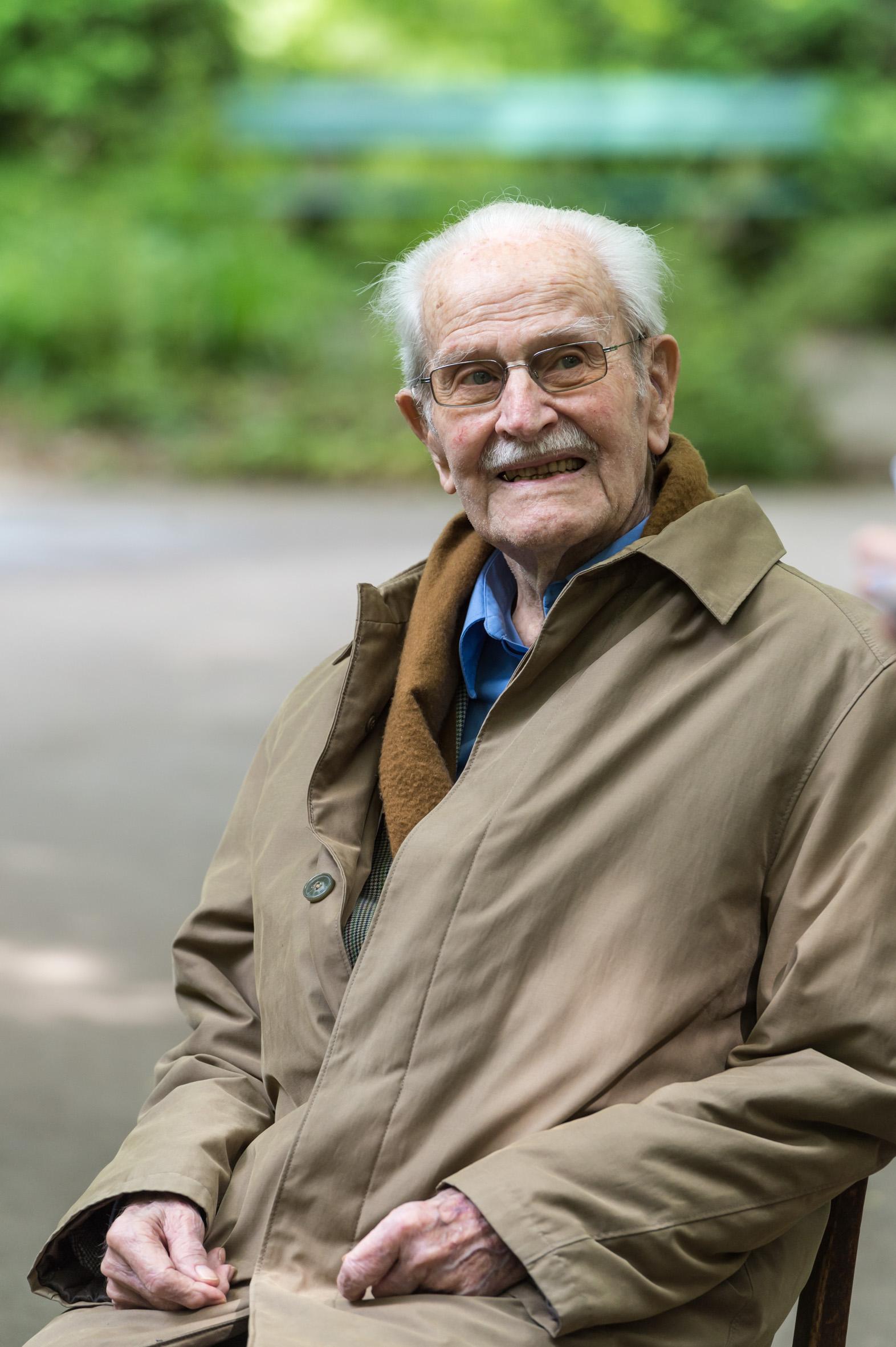 Ernst M. Lang anlässlich seines 100. Geburtstags
