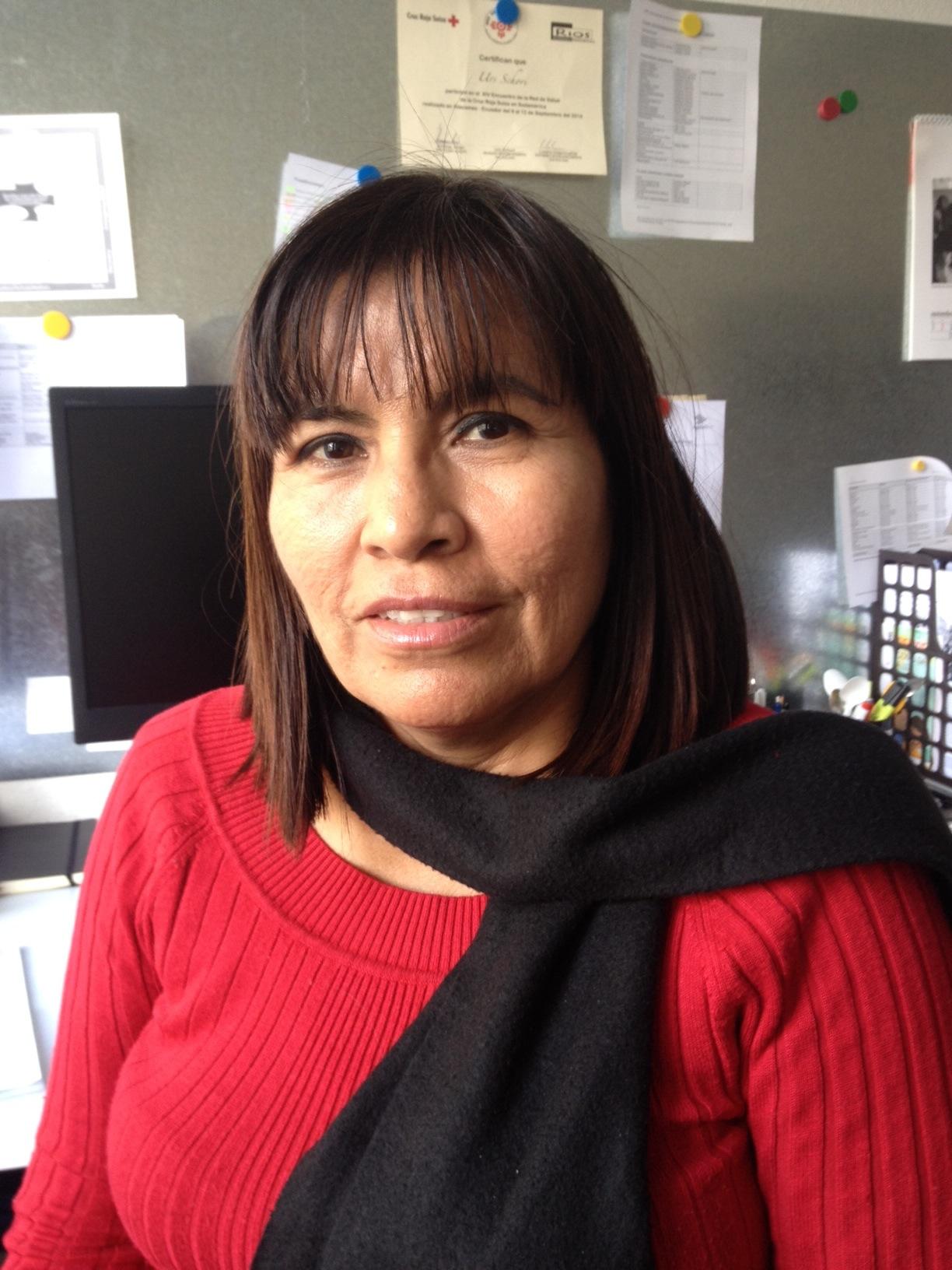 Sandra Dominguez.