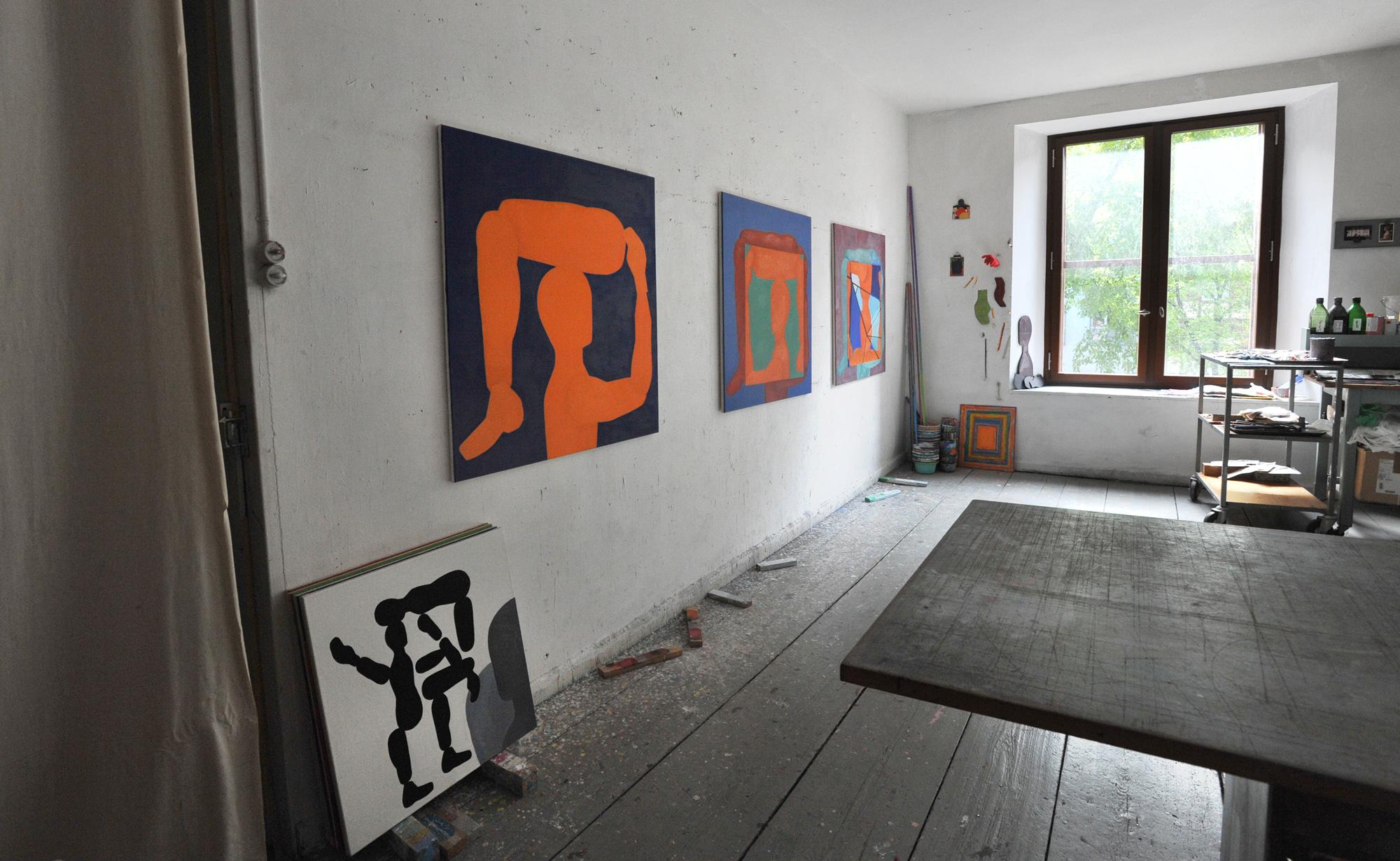 «Versuch mal, mit 70 ein Atelier zu finden!»: Aldo Solaris' Atelierraum.