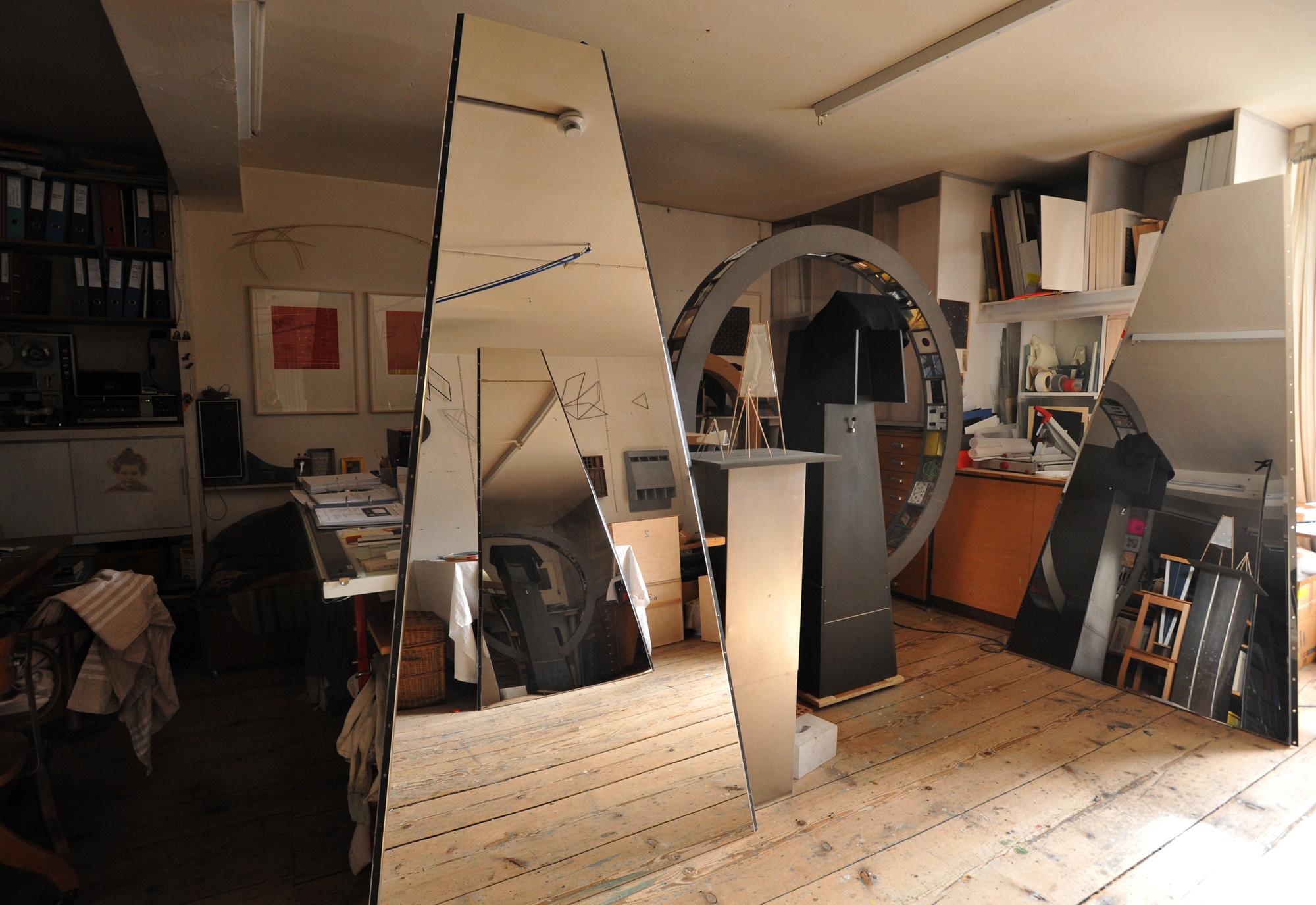 «Wieso ein seit langer Zeit gut funktionierendes Haus einfach zerstören?»: Atelier vonMarius Rappo.