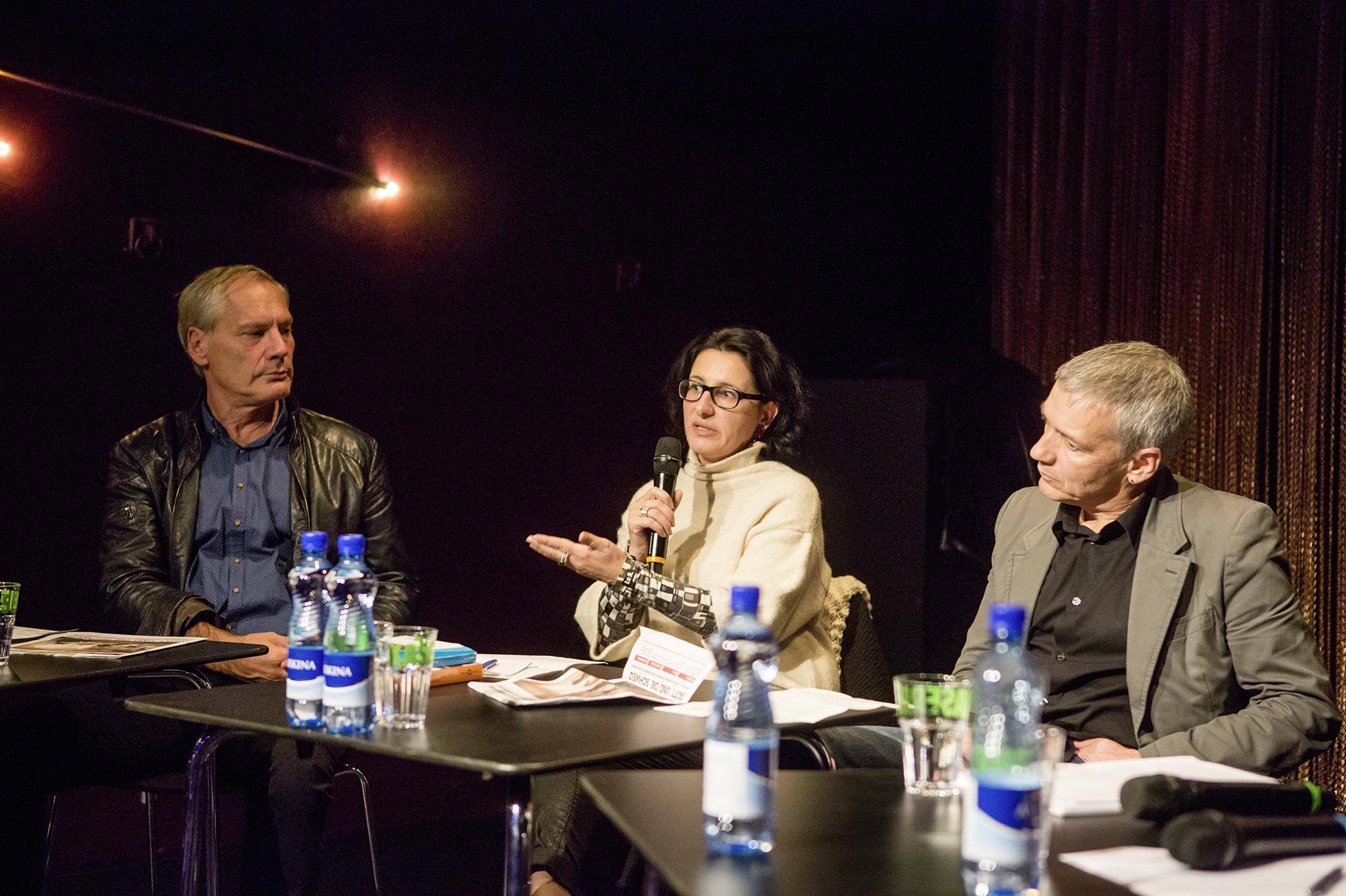 Paola Gallo wünscht sich seitens Behörden und Politiker eine geschlossene Haltung auch dann, wenn keine wirtschaftlichen Interessen im Spiel sind.