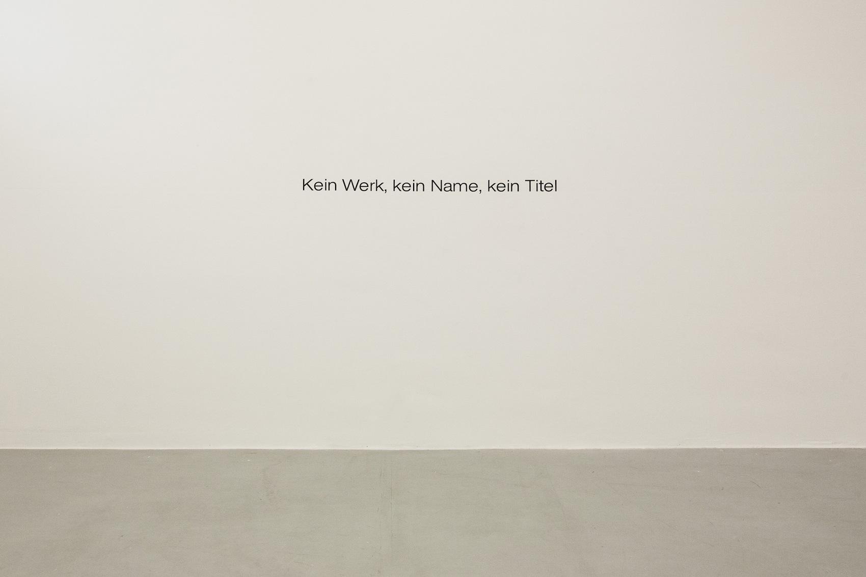 Wer erkennts? Diese Arbeit von Denis Handschin ist während der «Regionale» ausgestellt – Handschins Name ist aber nirgends aufgeführt.