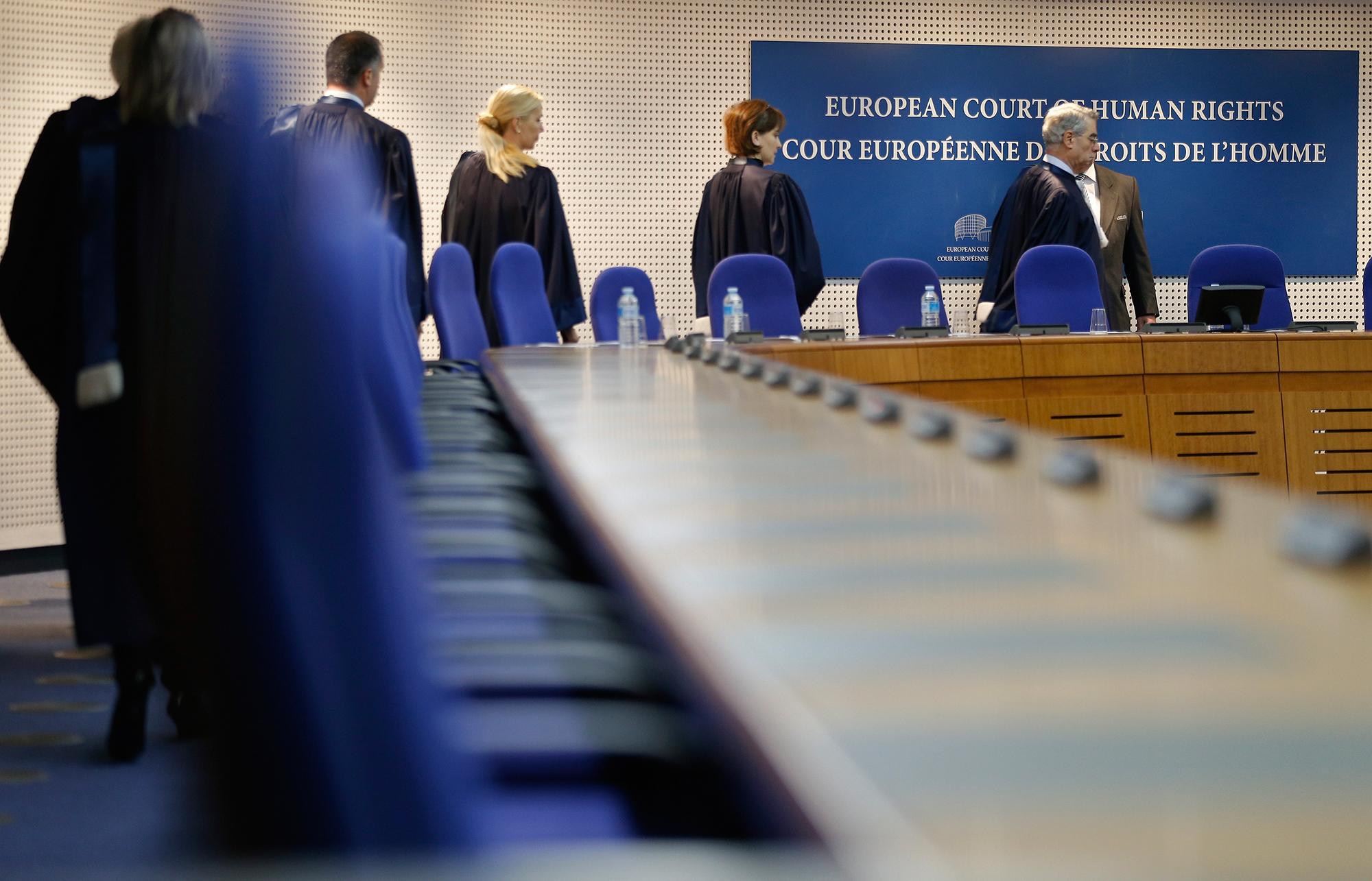 47 Richter aus 47 Mitgliedstaaten arbeiten am Gerichtshof für Menschenrechte.