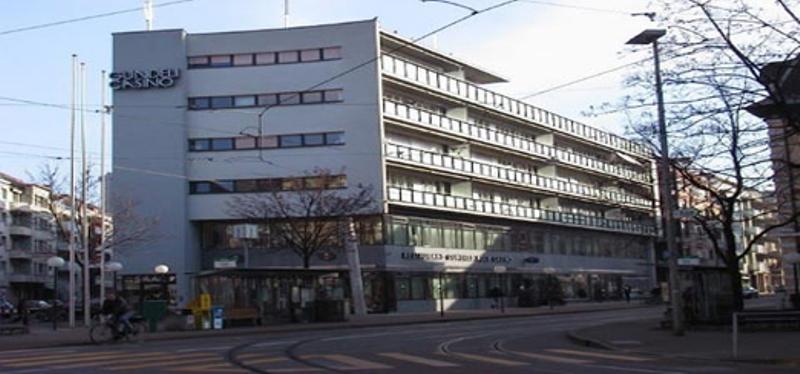 Das Gundeldinger Casino. In den ersten Stock wird im Sommer nächsten Jahres die Stadtteilbibliothek Gundeldingen einziehen.