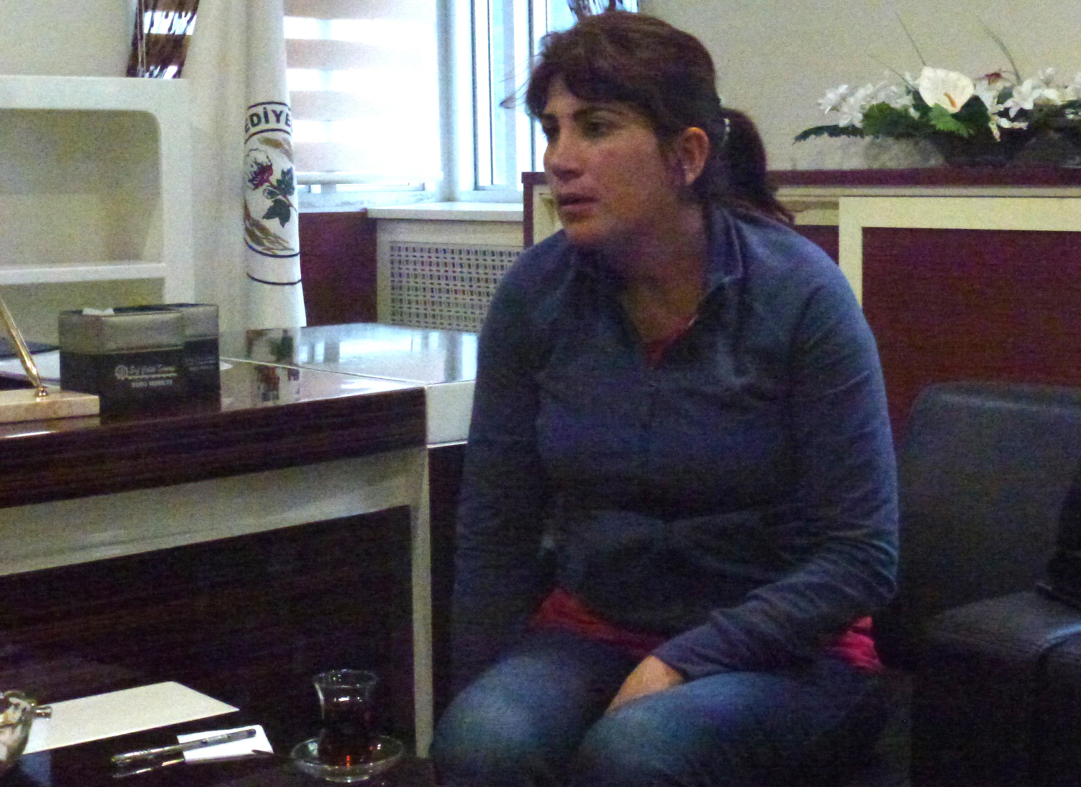 Zuhal Ekmez, Co-Gemeindepräsidentin von Suruç,