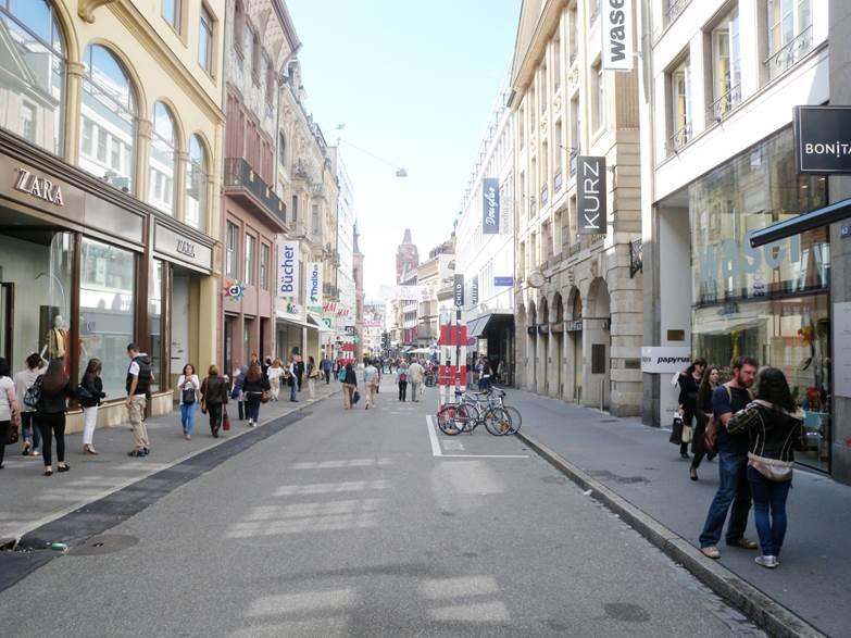 Die Freie Strasse heute.