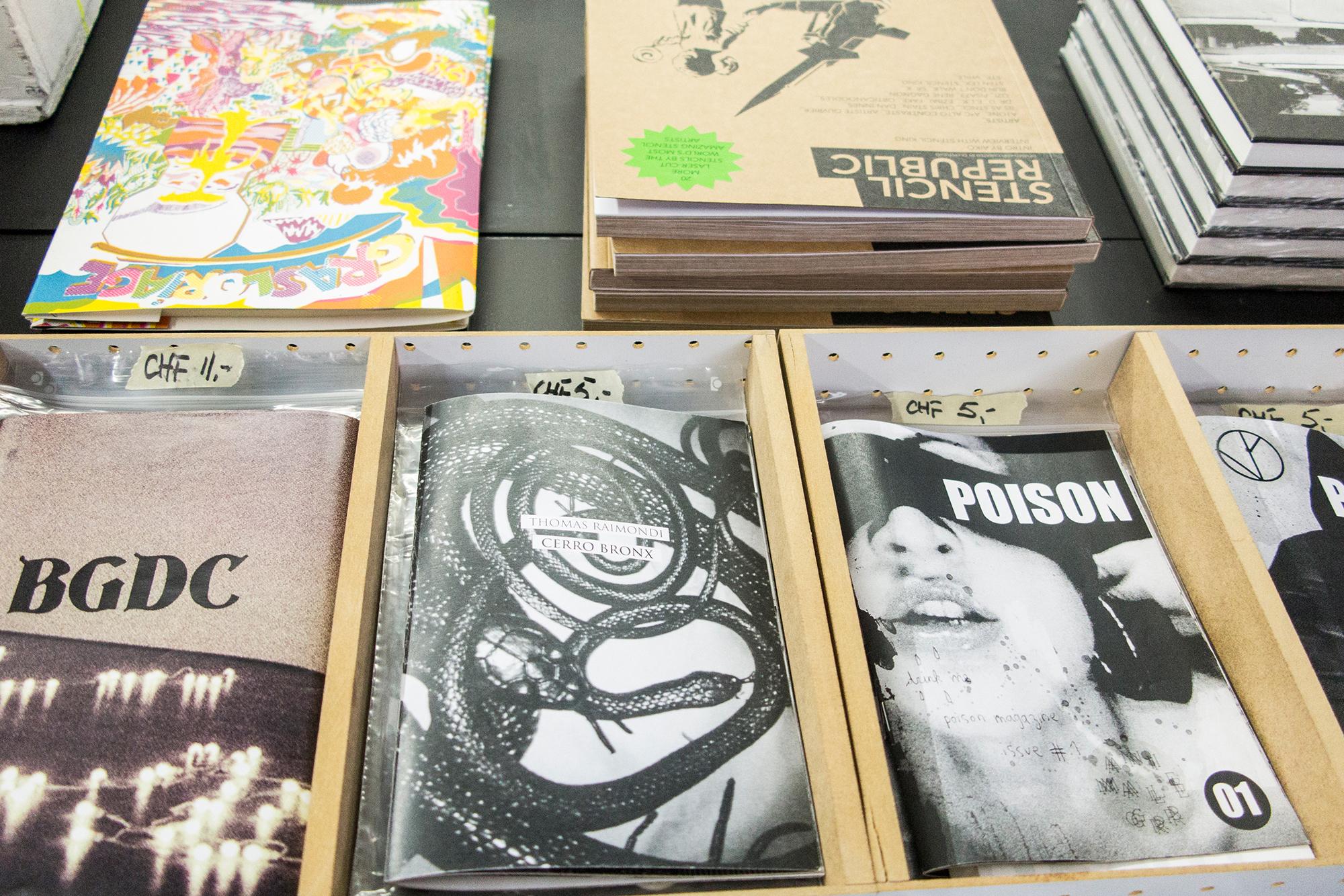 Die kleinen Magazine gibt es ab fünf Franken zu kaufen.