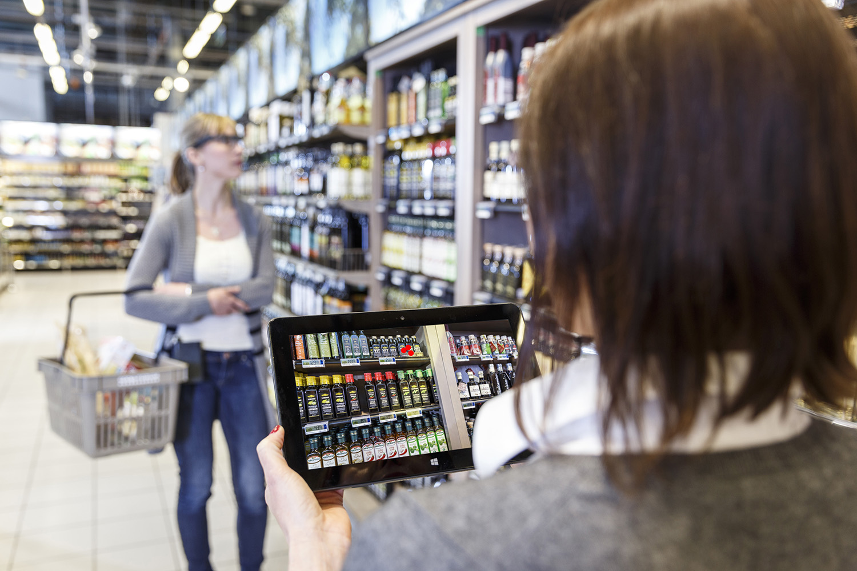 Die Daten des Eye-Tracking zeigen, wo der Blick des Kunden verweilt. Ob der Kunde auch das will, worauf er schaut?