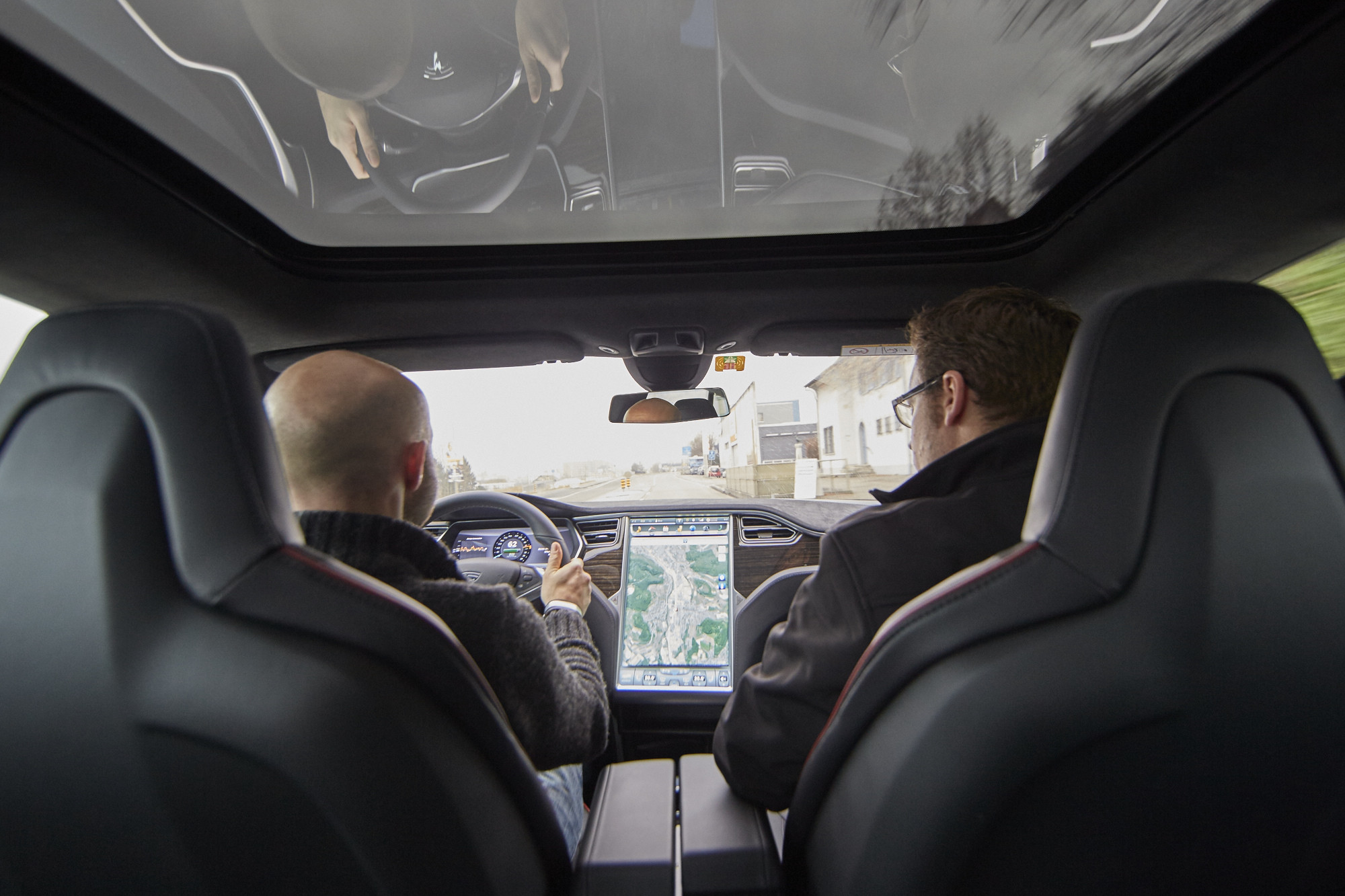 Testfahrt im Tesla: Das stärkste Auto seit dem Elektromotor | TagesWoche