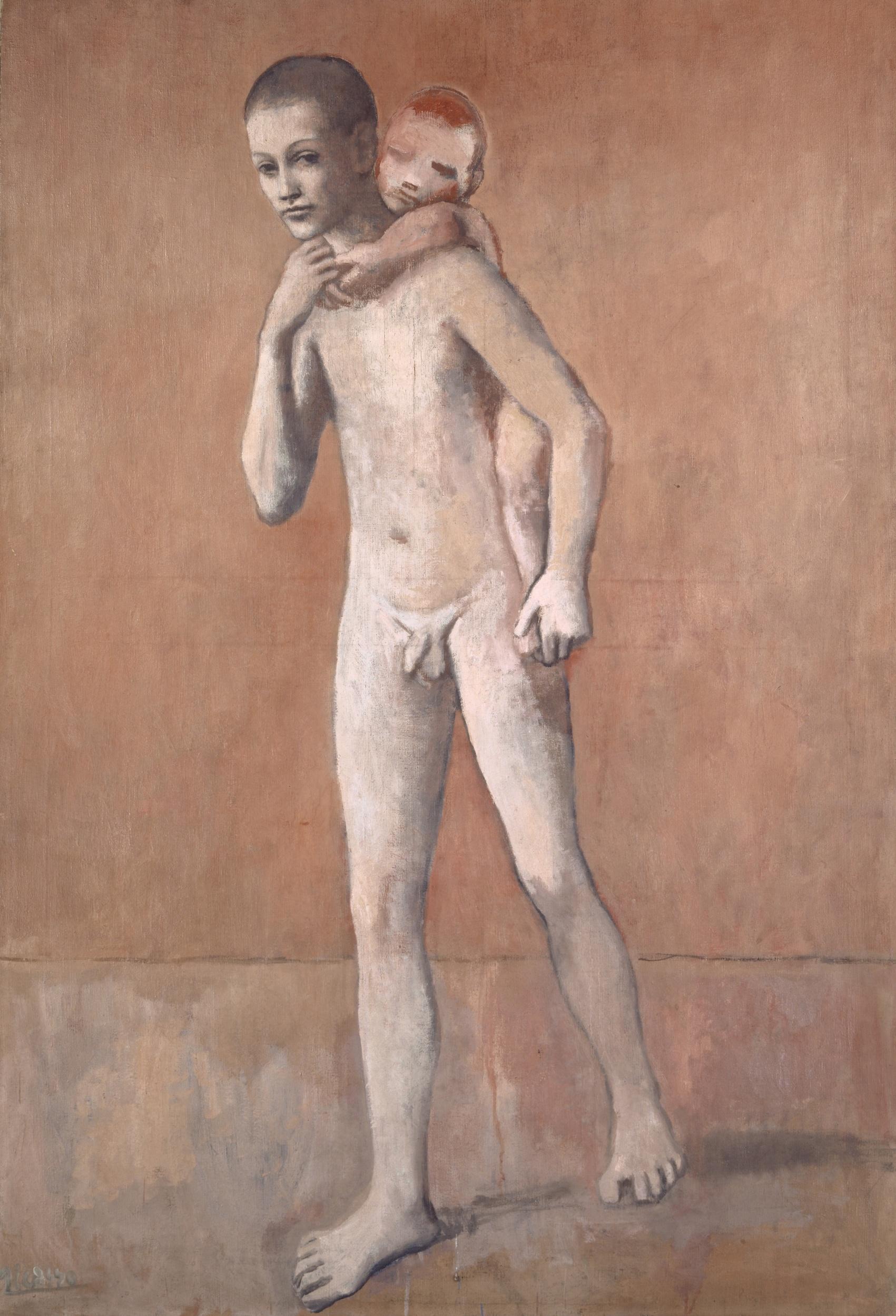 Auch Picassos «Les deux frères» konnten für damals viel Geld in Basel bleiben.