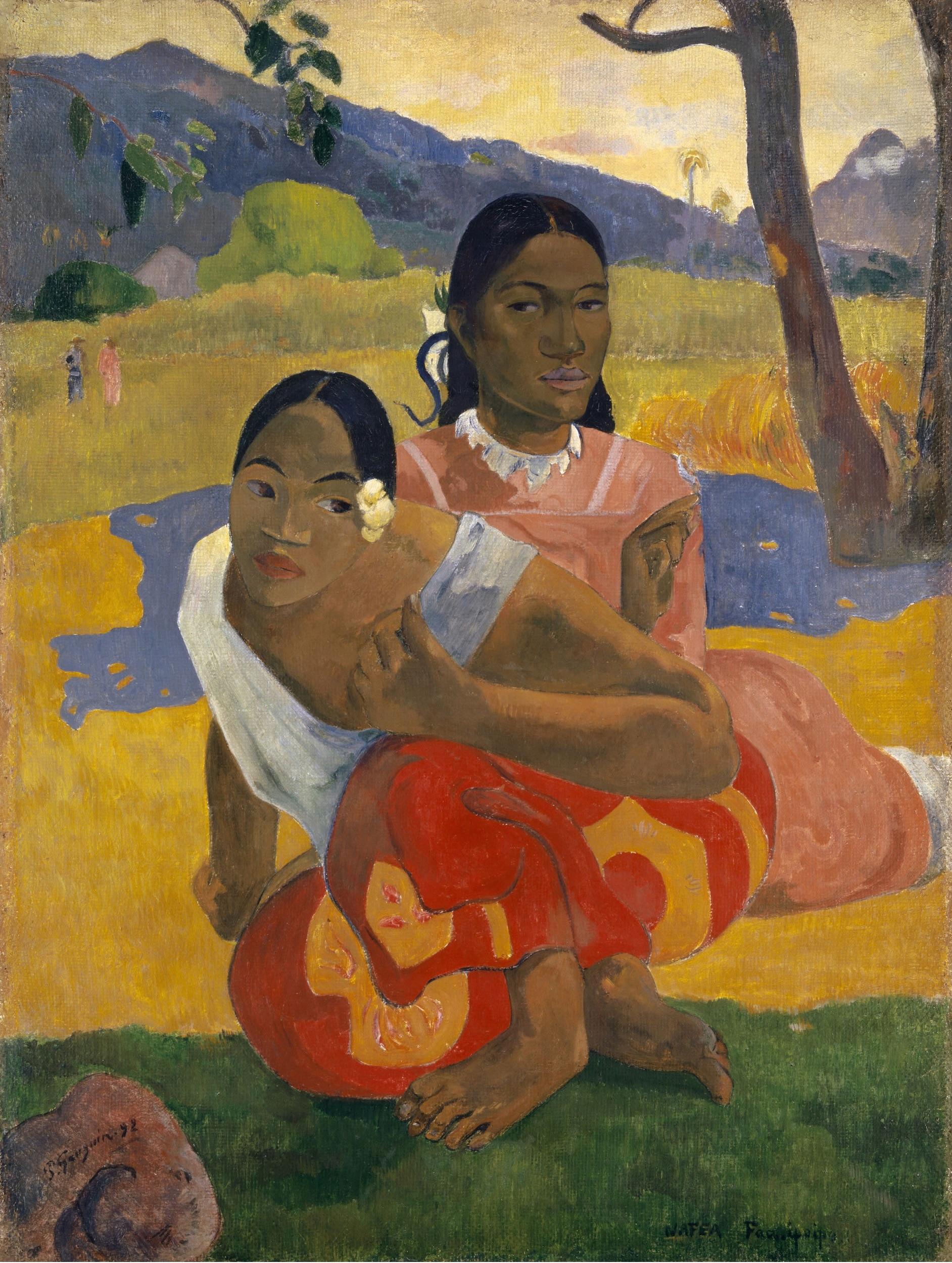 Gauguins «Nafea» hing 50 Jahre im Kunstmuseum bis es offenbar als teuerstes Bild aller Zeiten verkauft wurde.