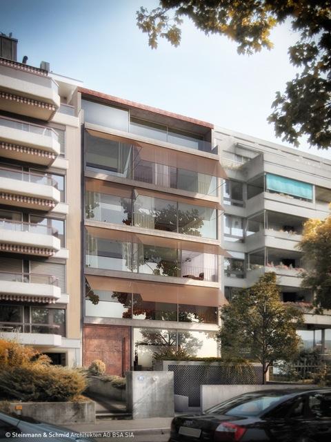 Insgesamt sechs Wohnungen sollen im Neubau entstehen.