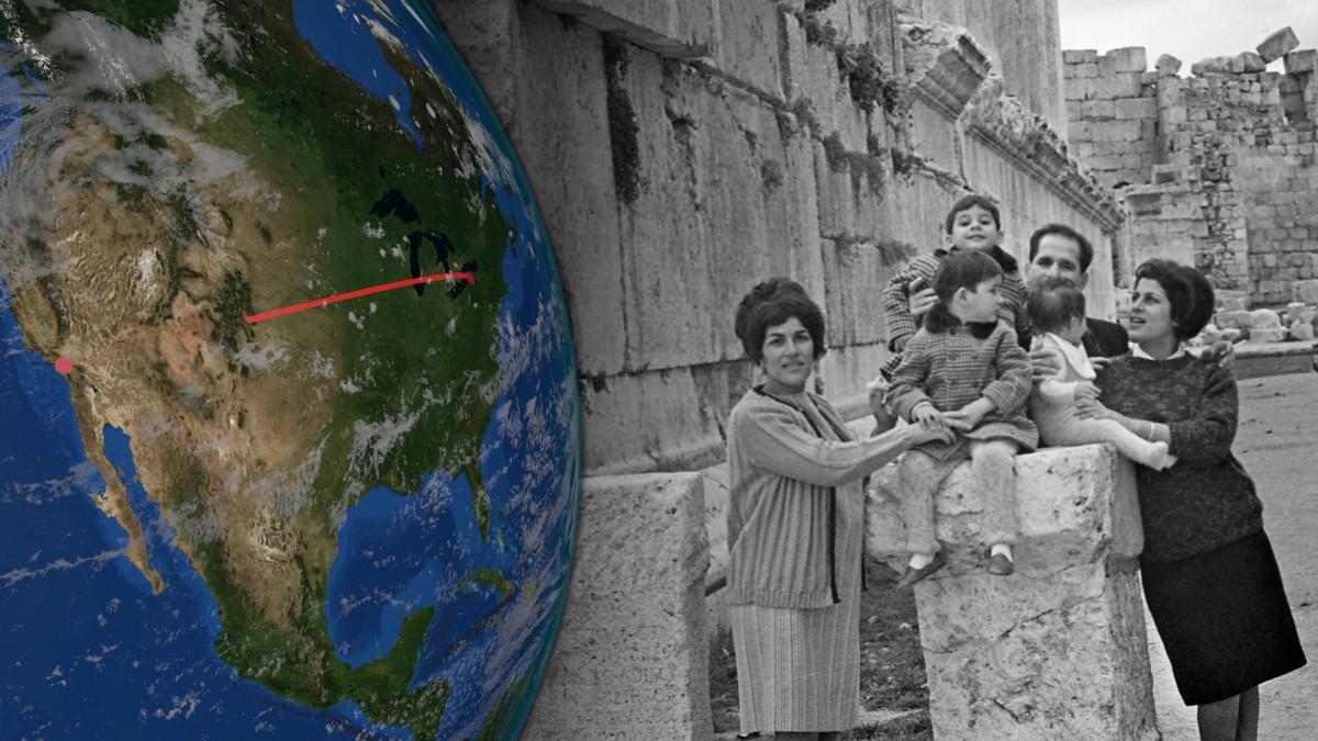 Archivaufnahmen vermischen sich in Samirs Film mit aktuellem.