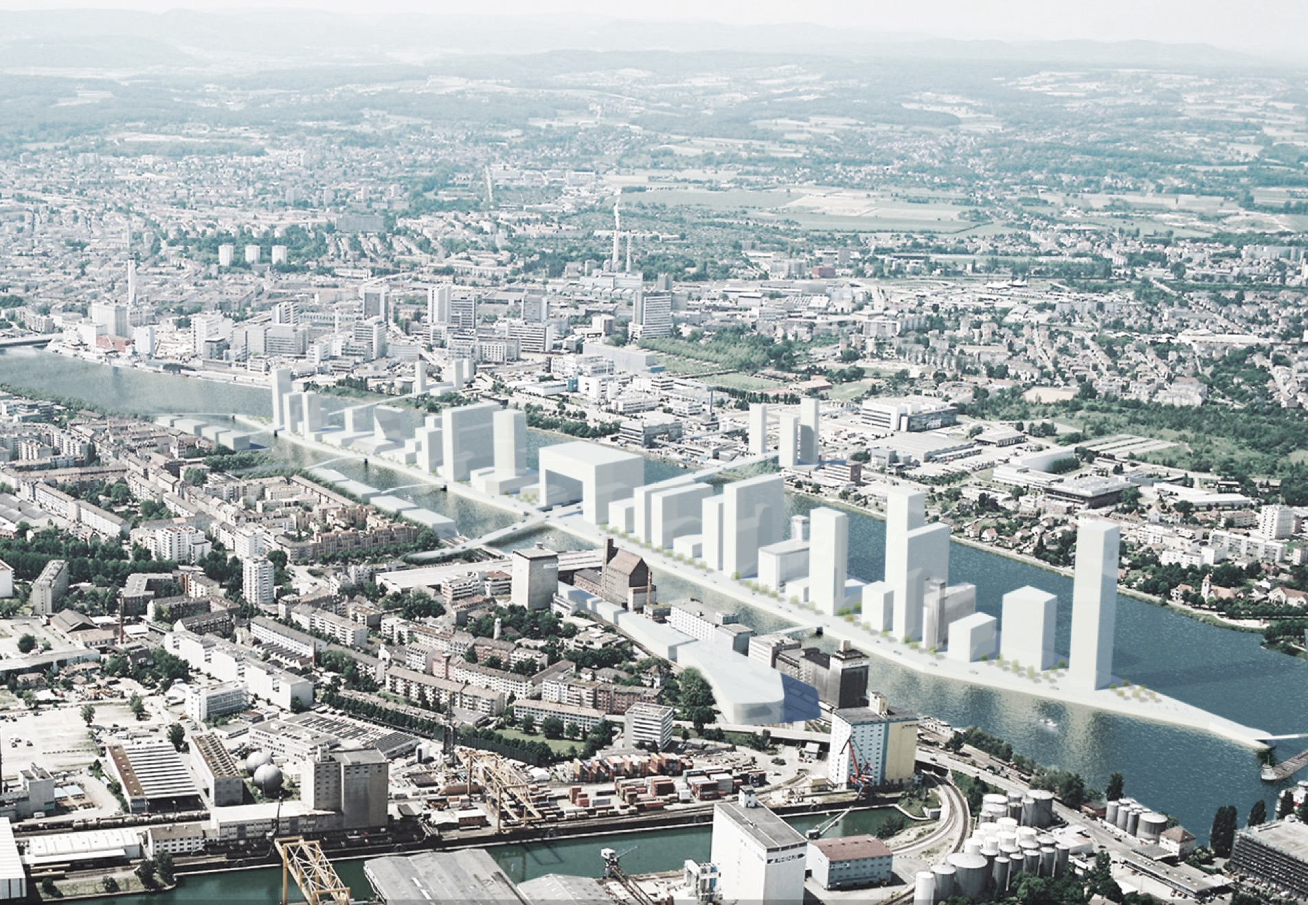 Mitwirkungsprojekt Hafenentwicklung: «Die Hochhausbilder von Rheinhattan sind offensichtlich nicht aus den Köpfen zu bekommen.»