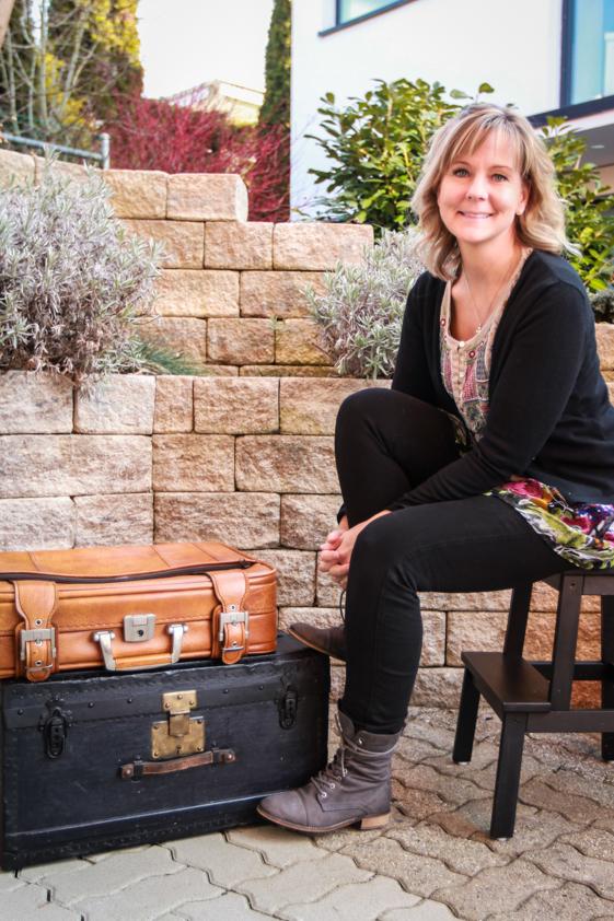 Veronica Kiefer ist bereit für den Koffermarkt Basel.