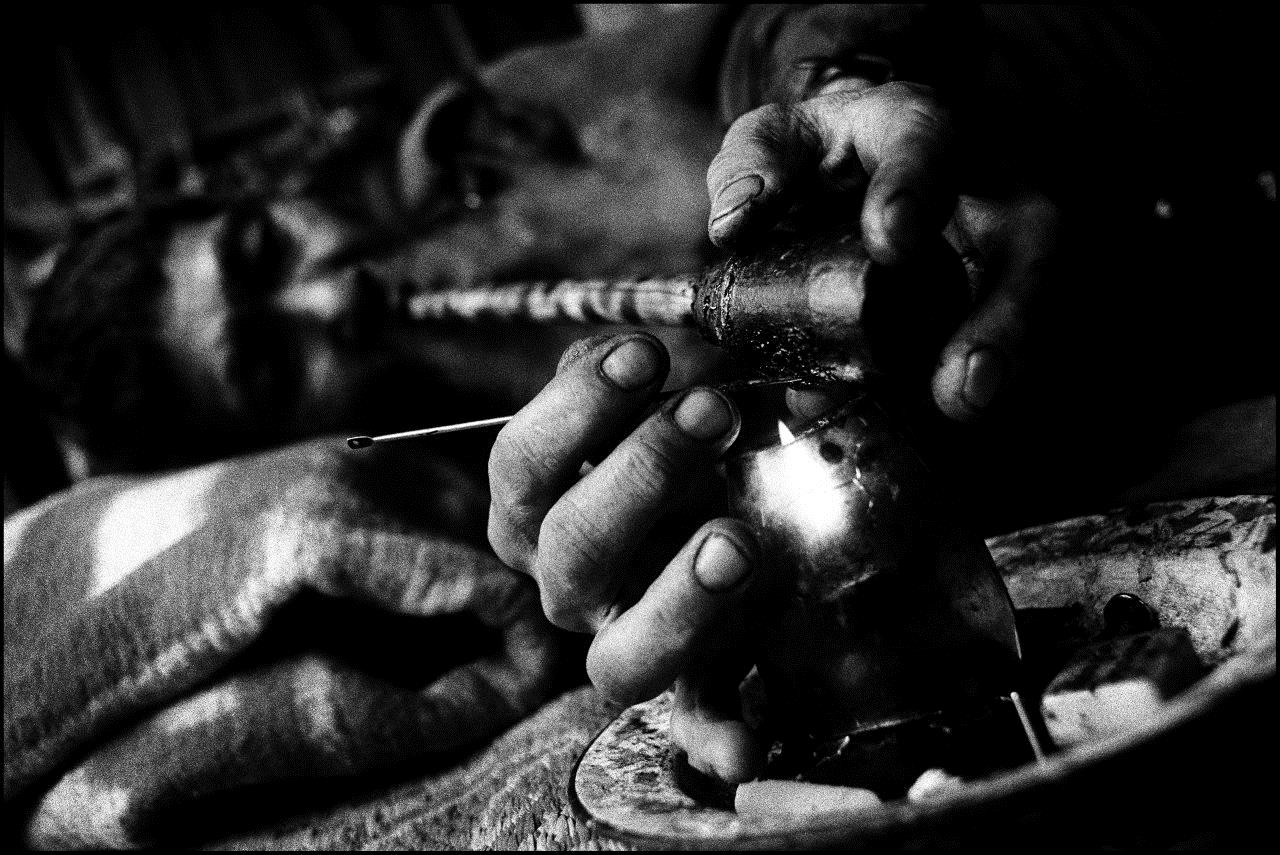 Opiumraucher in Laos