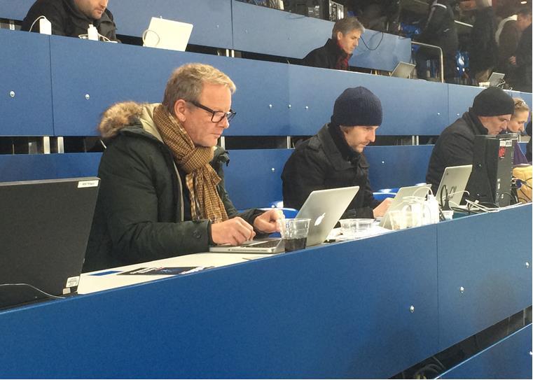 Gemeinsam an einem Spiel der Champions League – war es Real?