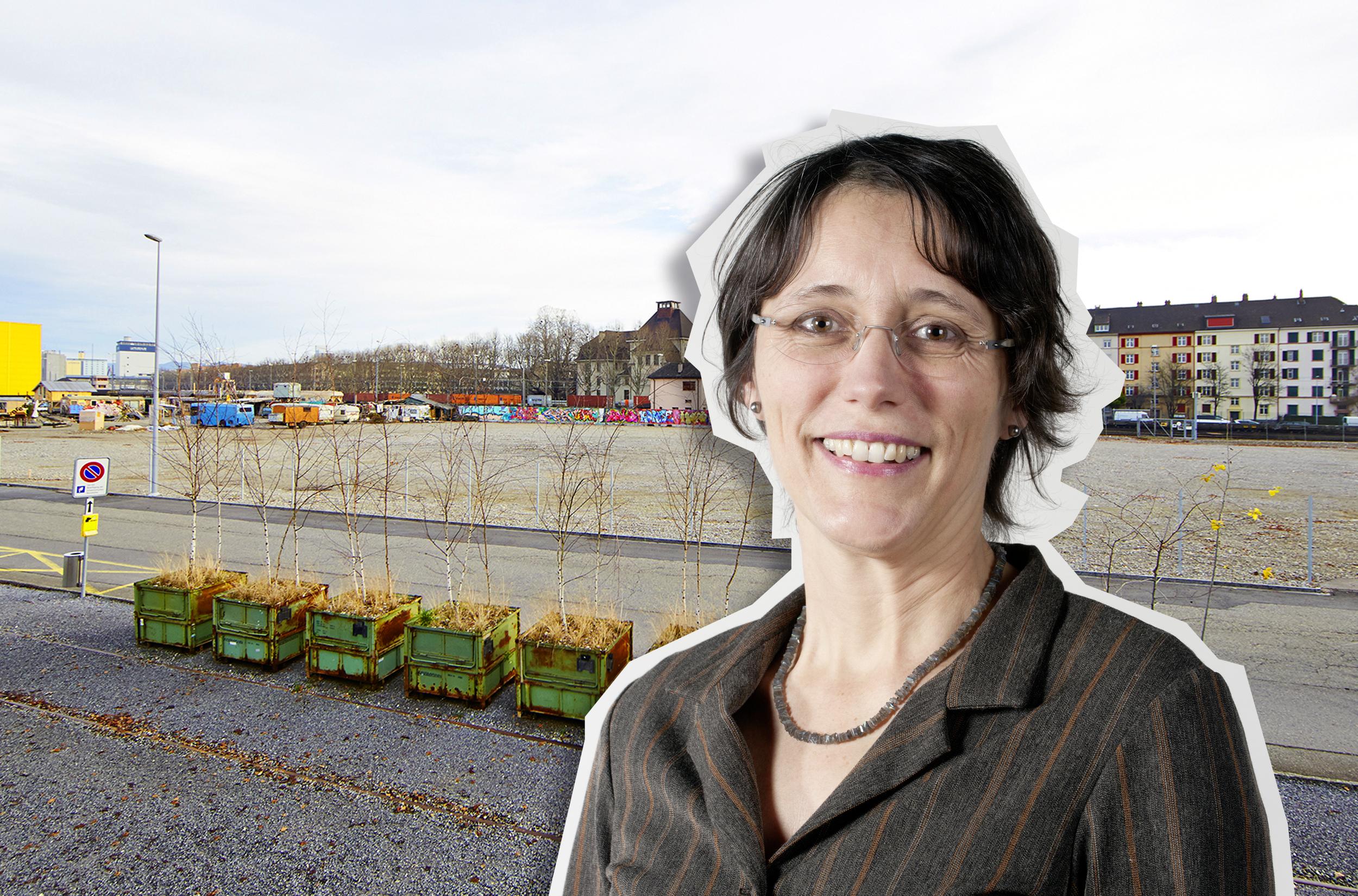 Heidi Mück hegt grosse Sympathien für den Wagenplatz. Entsprechend deutlich fällt ihr Urteil über die Fussballplatzidee der Regierung aus.
