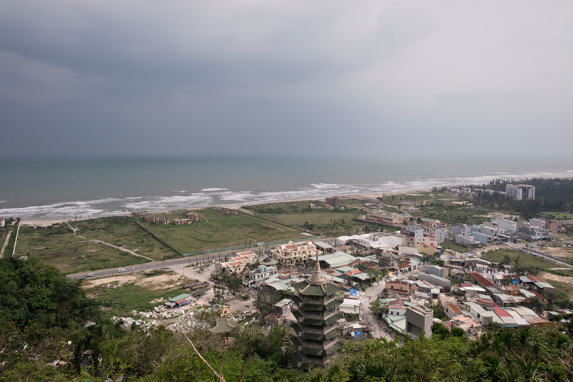 Der Postkartenstrand von Da Nang: Nichts deutet auf den Schrecken hin, der einst von diesem Ort ausging.