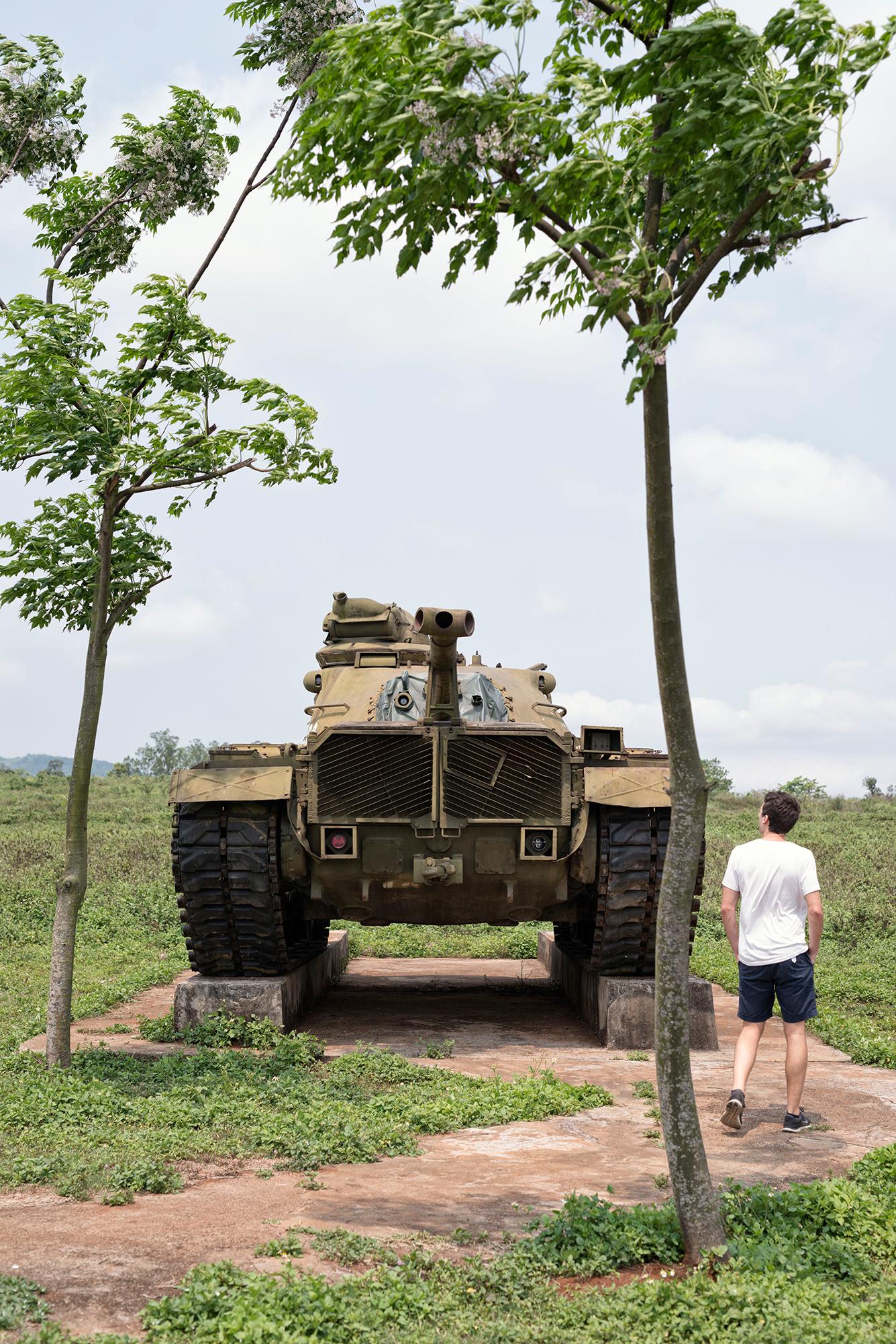 Die ehemalige Basis der US-Marines bei Khe Sanh ist heute eine Touristenattraktion. Hier fand 1968 die grösste Schlacht des Vietnamkriegs statt.