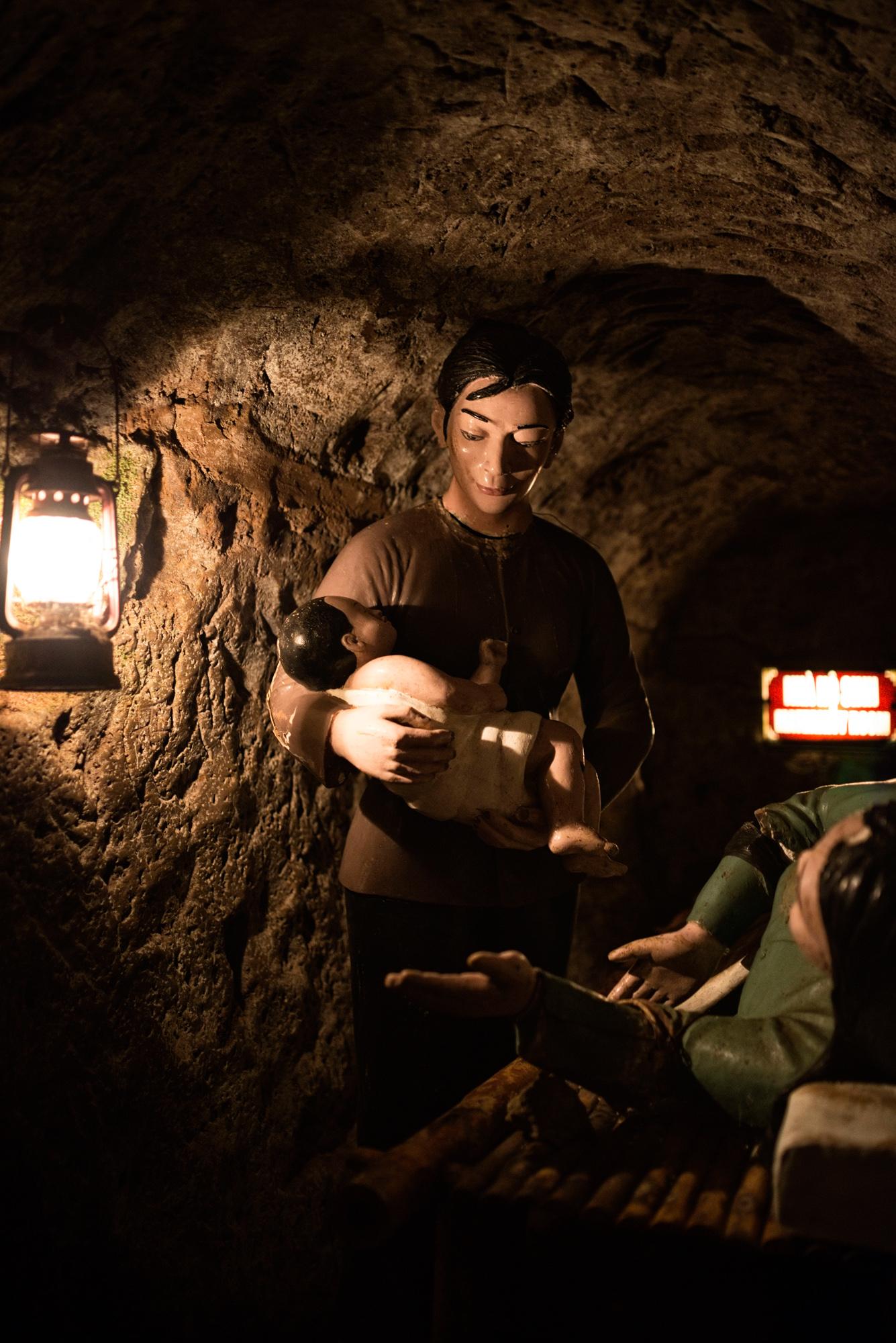 Vinh Moc: In den Tunnels kamen zahlreiche Kinder zur Welt.