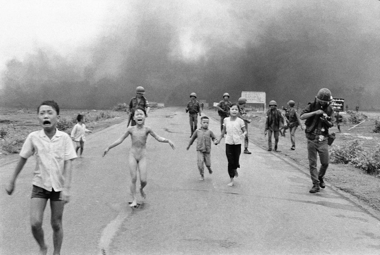 Flucht vor dem Napalm: Dieses Bild ist als Ikone des Leids in die Geschichte eingegangen.