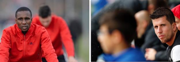 Zwei mit Basler Vergangenheit: Gilles Yapi (links) spielte 2010 bis 2013 für den FCB, Sandro Wieser von 2006 (Juniorenzeit) bis 2012, kam aber nur zu zwei Einsätzen im Fanionteam.