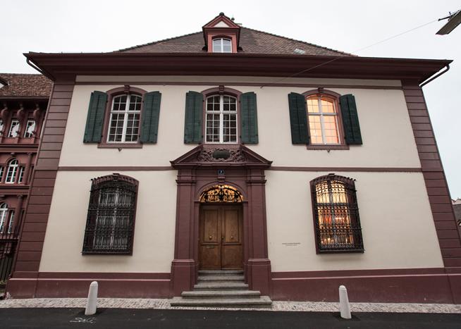 Der Spiesshof am Heuberg.