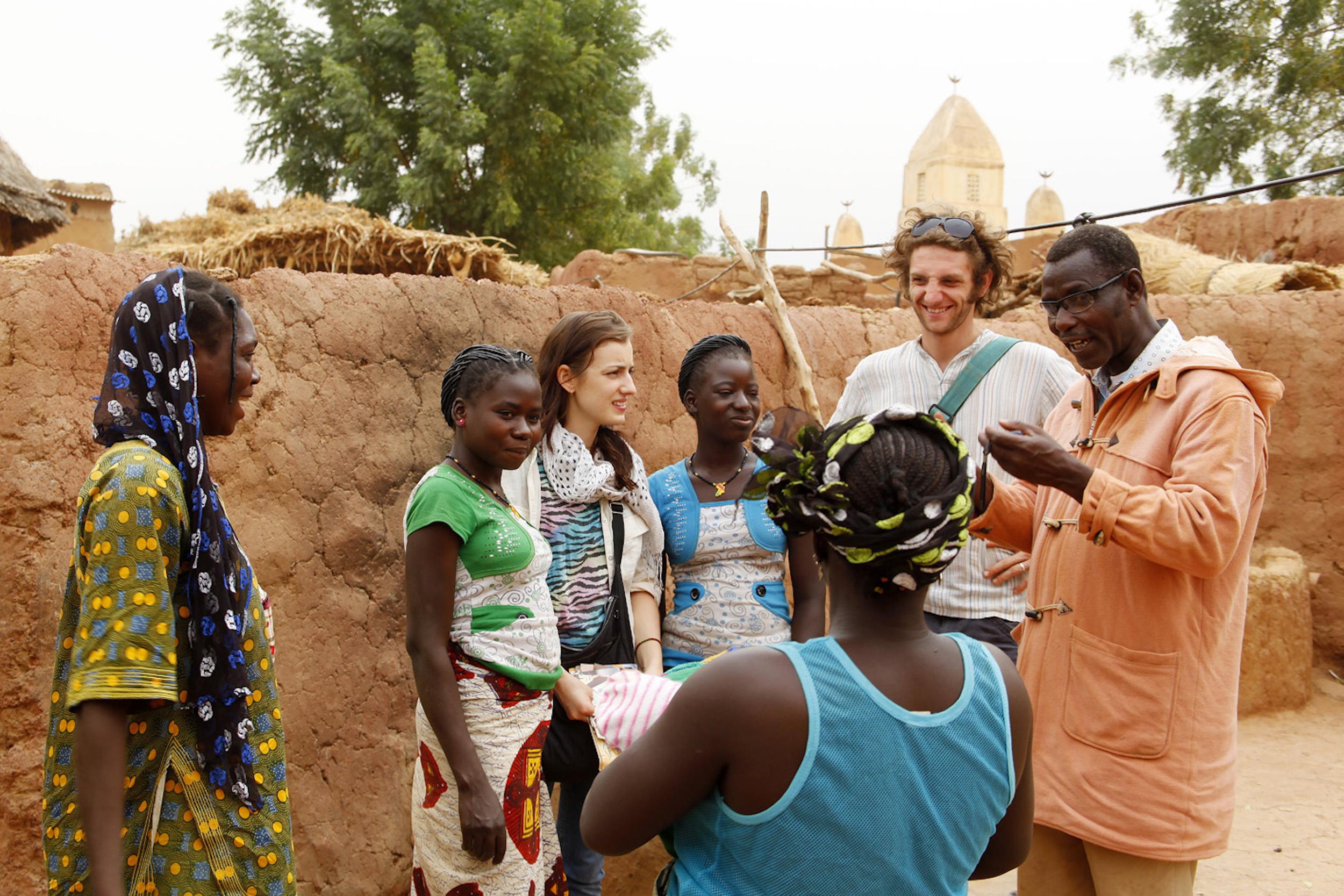 Michael Bührer fördert den kulturellen Austausch zwischen Europäern und den Menschen in Burkina Faso.
