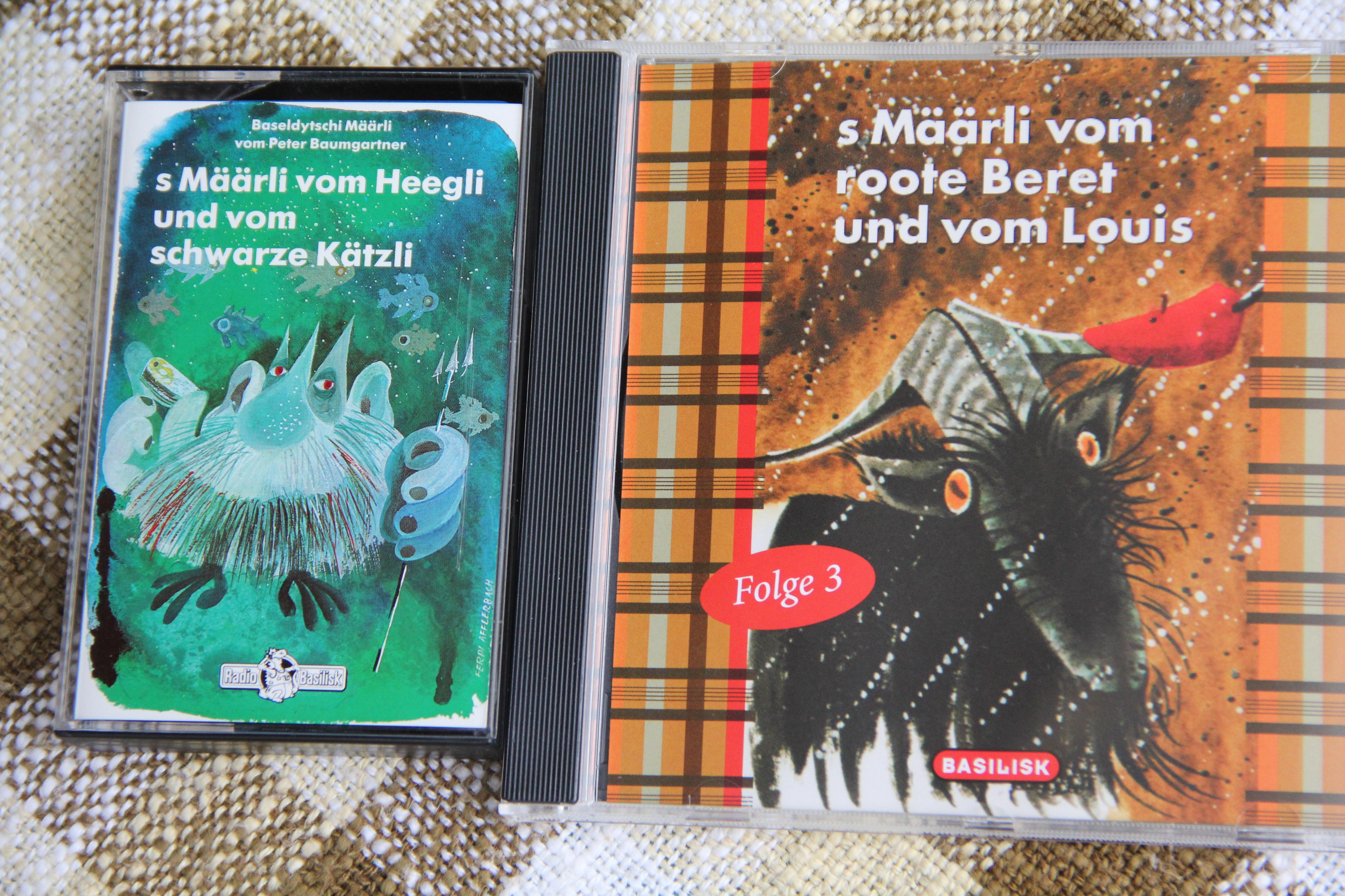 Damals auf Kassette, seit zwei Jahren auch auf CD: Noch immer verkaufen sich die Geschichten von Rolf Schächteli.